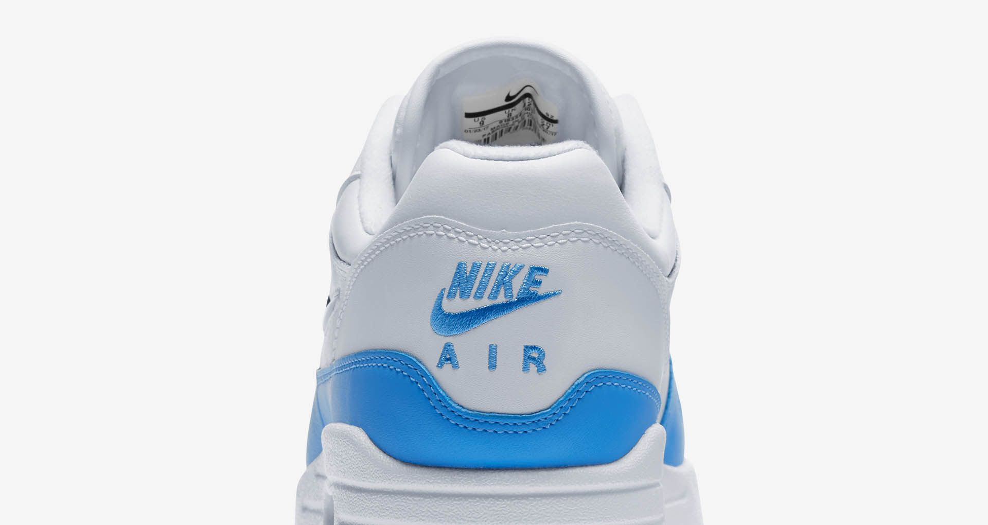 Nike Air Max 1 Premium Jewel 'White & University Blue