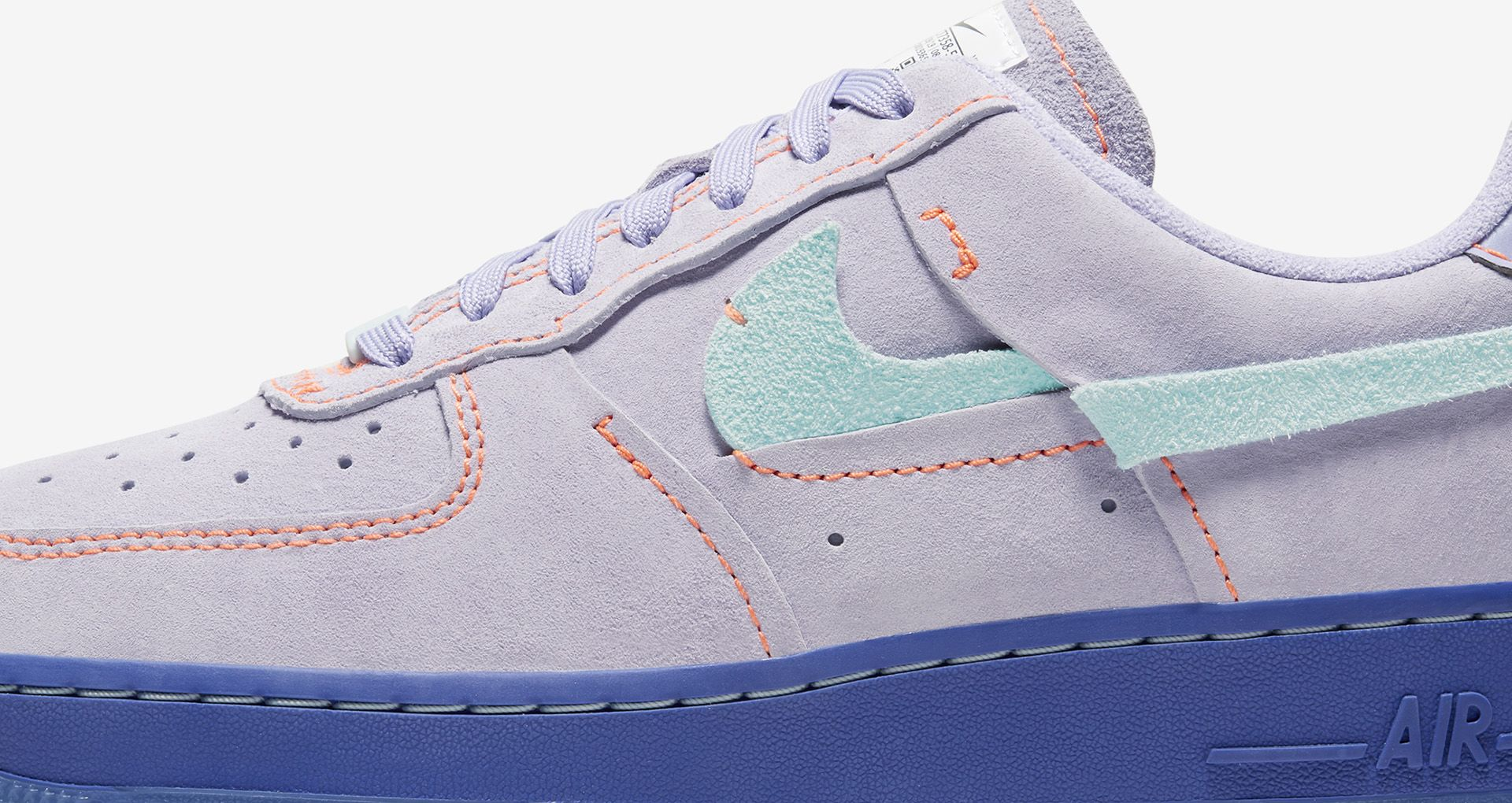 nike airforce damen lila