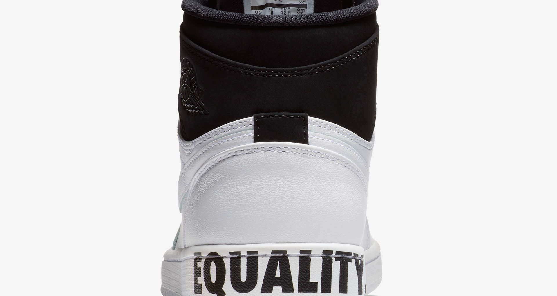 new concept 08651 c9859 Air Jordan 1 'Equality' 2018 Release Date. Nike+ SNKRS