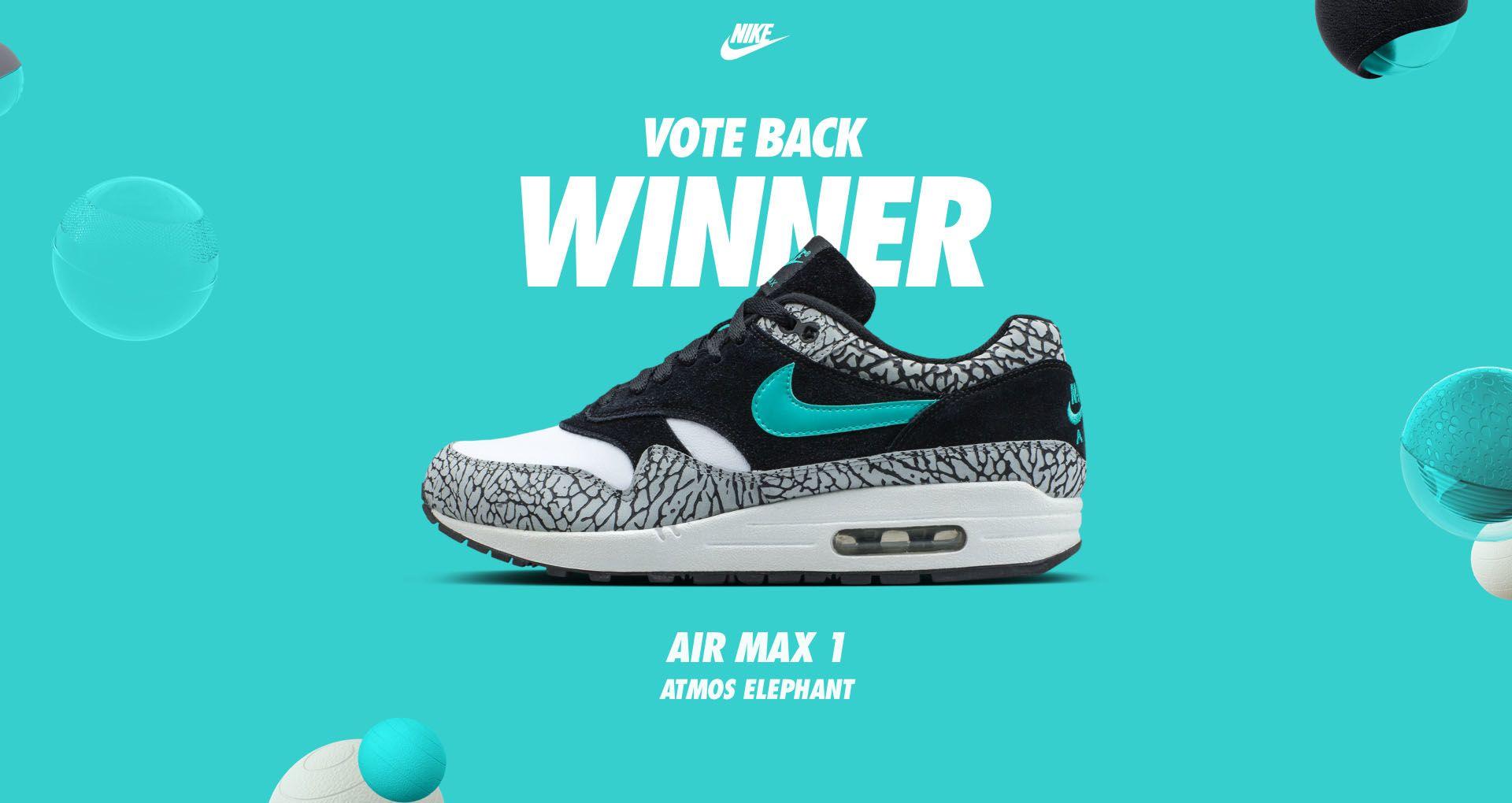 newest f0321 5ba61 AIR MAX. VOTE BACK WINNER