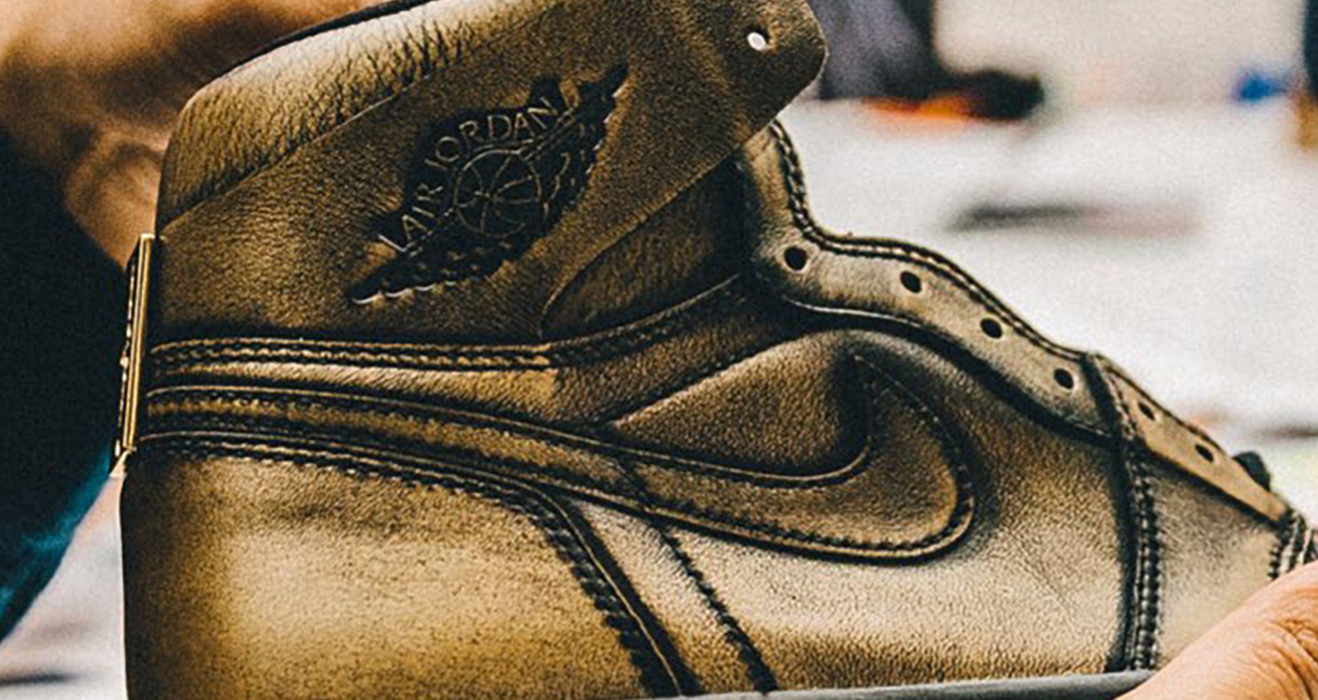 afd7db95d390e8 Behind the Design  Air Jordan 1 Retro  Wings . Nike+ SNKRS