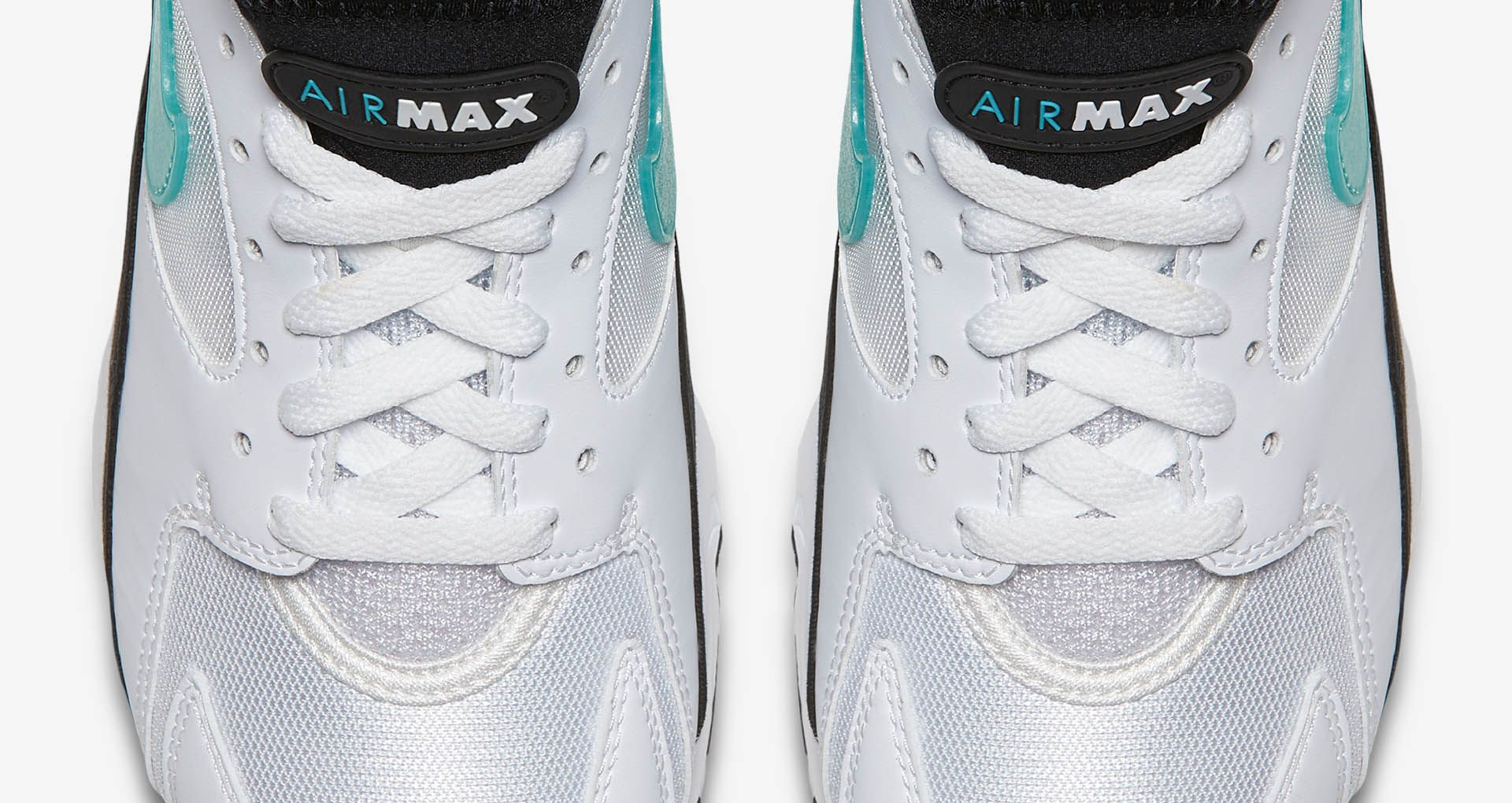Nike Women's Air Max 93 'White & Sport Turquoise' Release