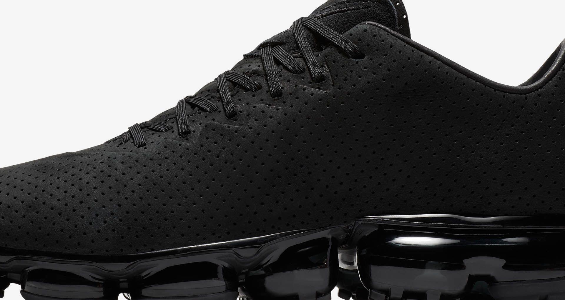 newest 5e76e 8adca Nike Air VaporMax LTR  Triple Black  Release Date