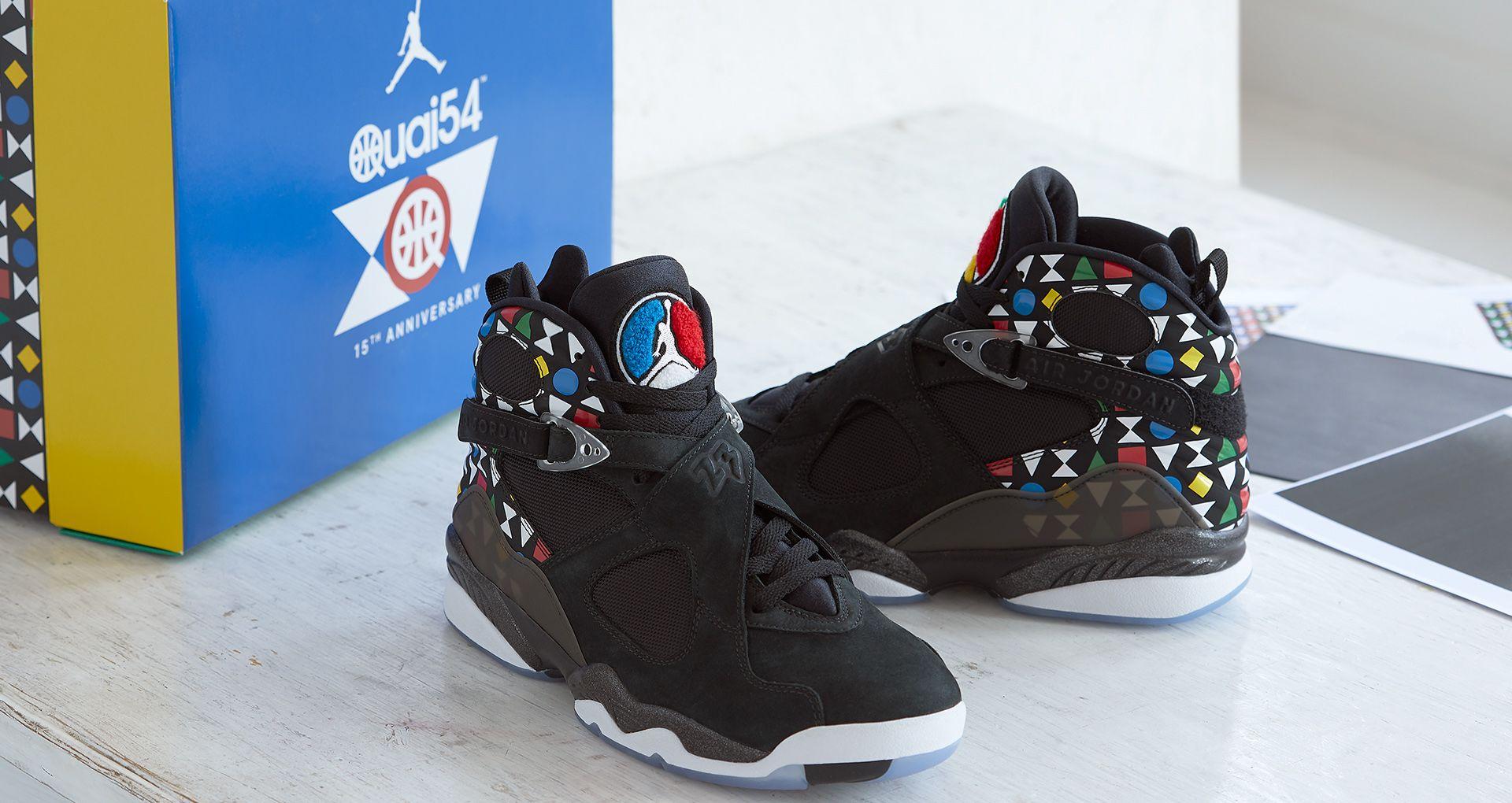 new style 07ec7 8560b Behind The Design: Air Jordan 8 'QUAI 54'. Nike+ Launch FI