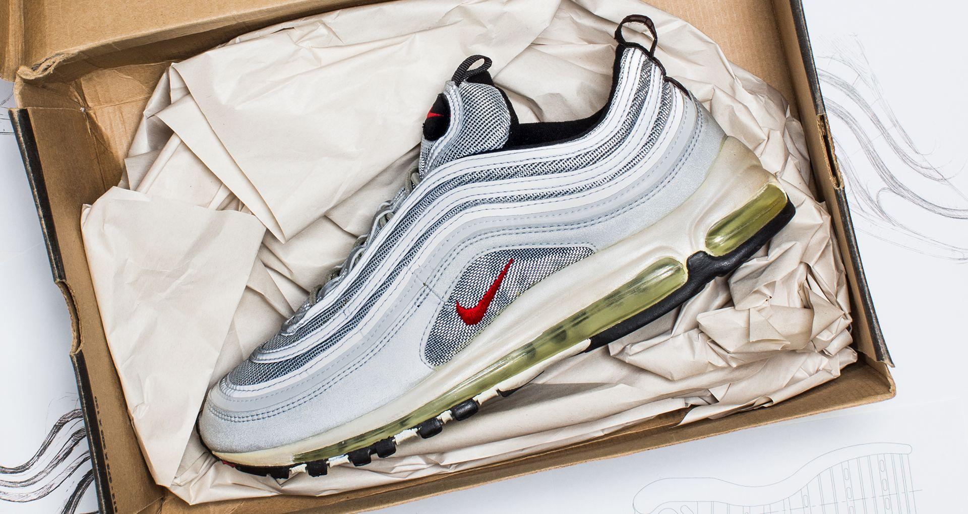 Behind the Design: Nike Air Max 97. NikePlus SNKRS