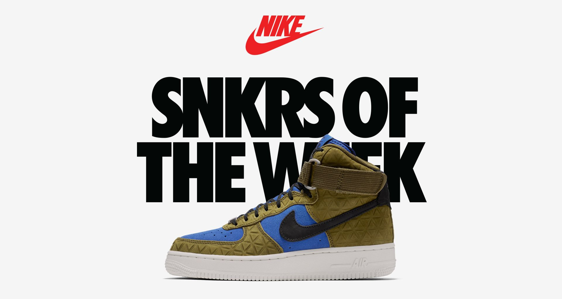 Women's Nike Air Force 1 Hi 'Olive & Mid Turquoise'. Nike SNKRS