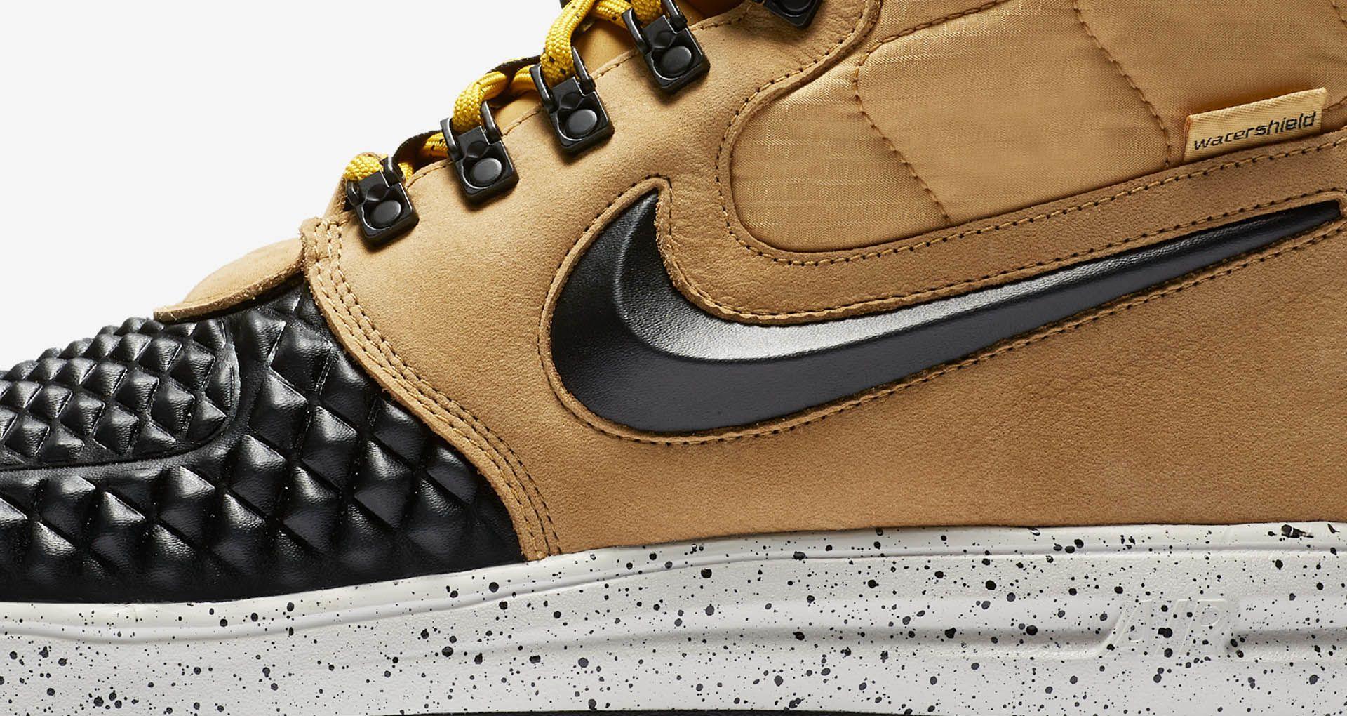 8abcd66d8660 Nike Lunar Force 1 Duckboot  Black   Tan  Release Date. Nike+ SNKRS