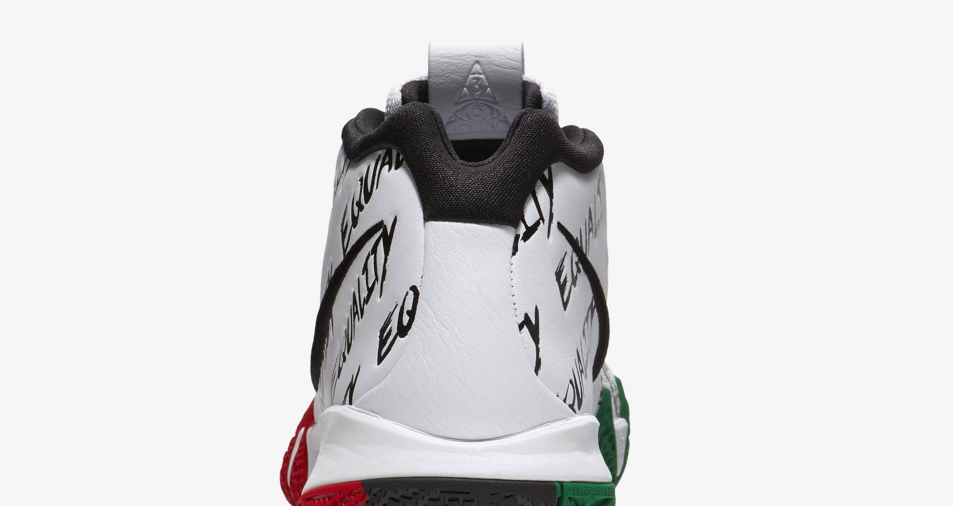 best website be25f d68c8 Nike Kyrie 4 'BHM' 2018 Release Date. Nike+ SNKRS