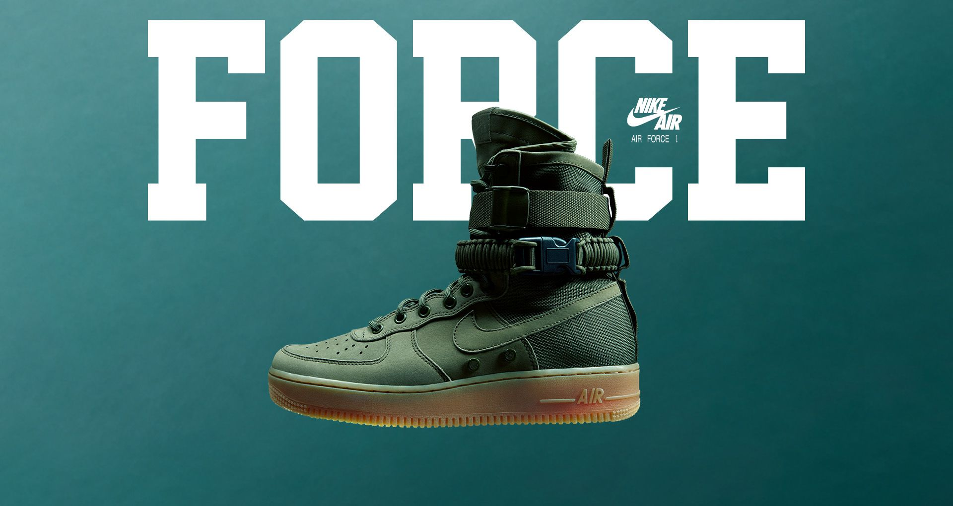 pick up 72c96 0c4cf Nike Special Field Air Force 1  Faded Olive  amp  Gum Light Brown . Release  Date. Nike⁠+ Launch DK