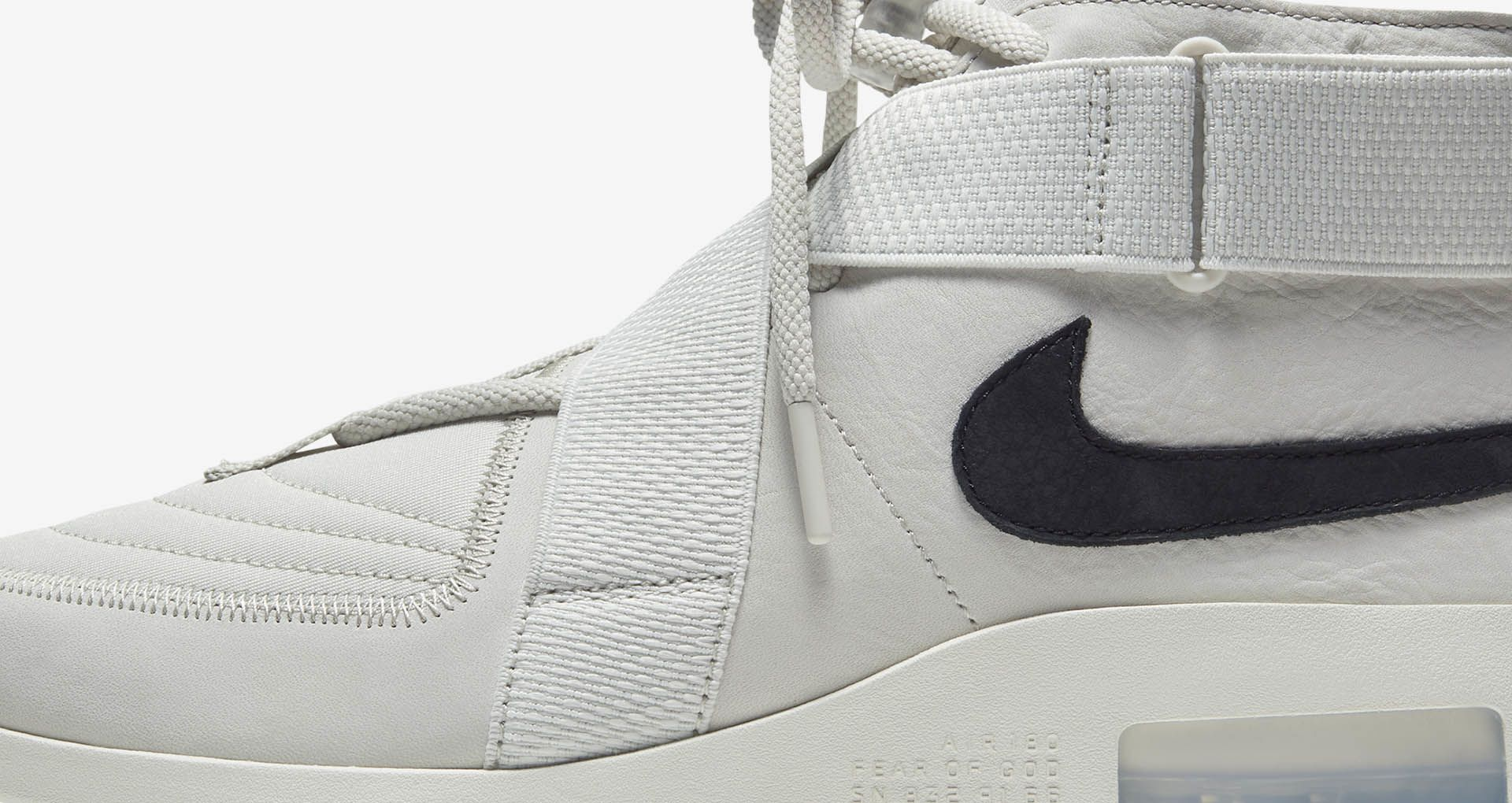 Air Fear Of God Raid 'BlackFossil' Release Date. Nike SNKRS
