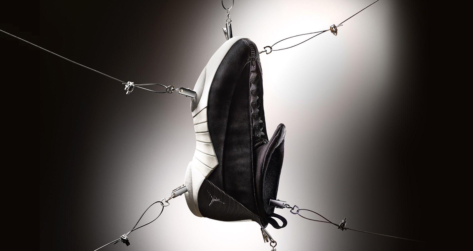 75c43747468079 Air Jordan XV PSNY  Black Suede . Nike+ Launch GB