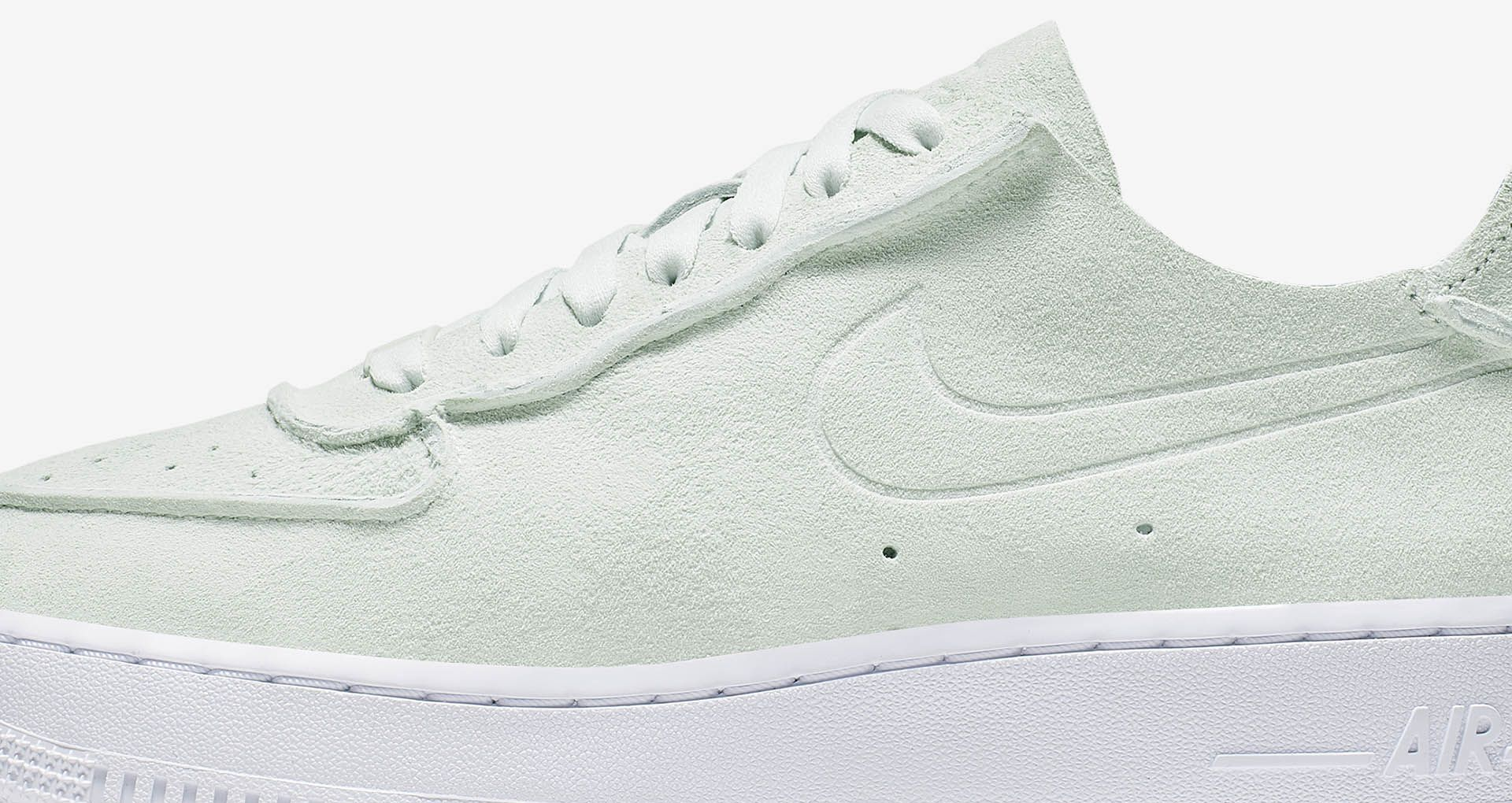 Release Date: Nike WMNS Air Force 1 Deconstructed Ghost Aqua