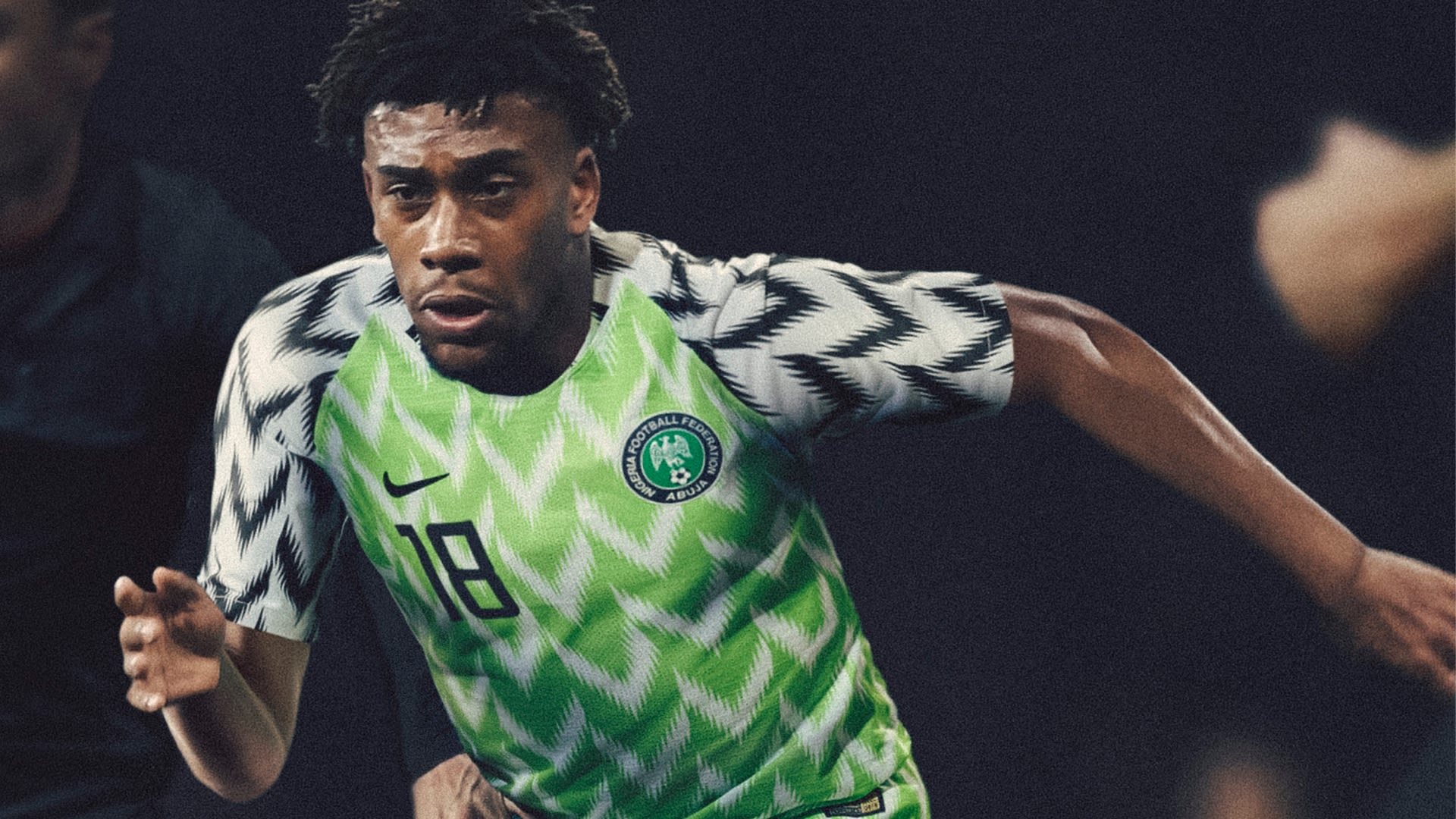 01e4c69d1 2018 Nigeria Stadium Home Kit. Nigeria National Football Team