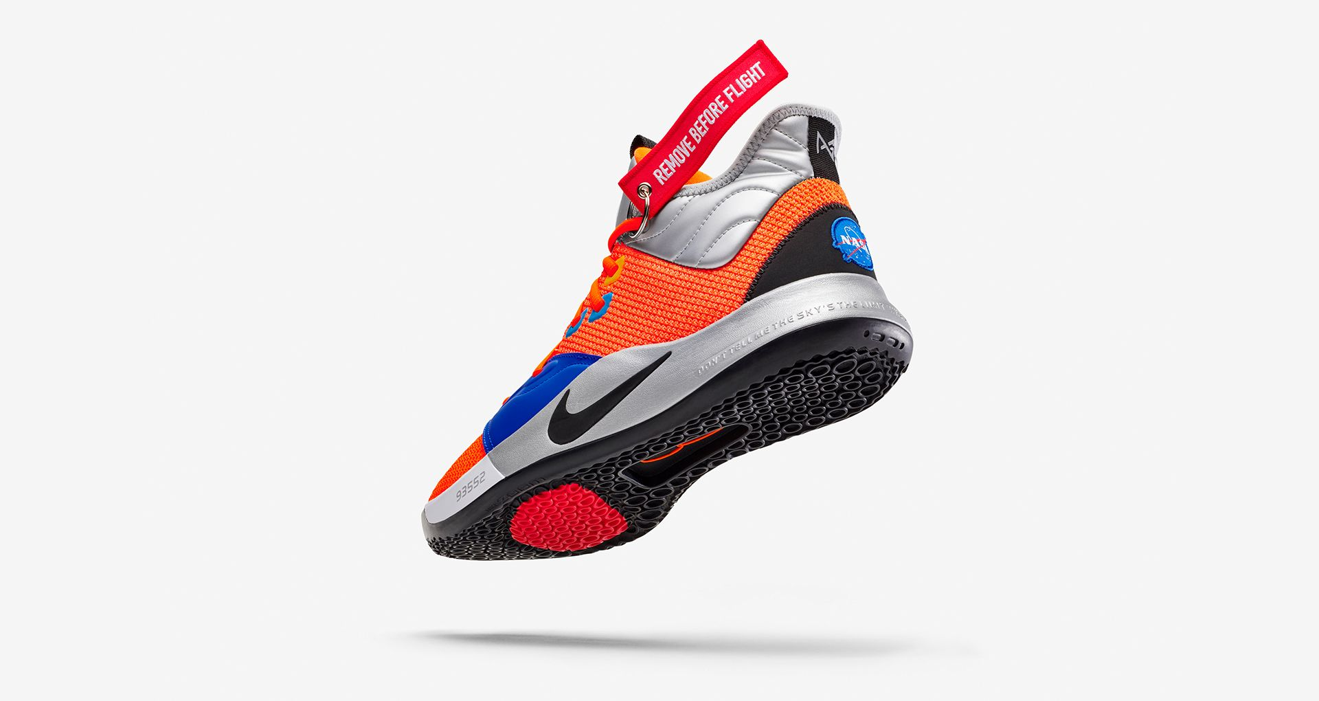 cd1274b888cab Nike PG 3 NASA  Total Orange  Release Date. Nike+ Launch GB