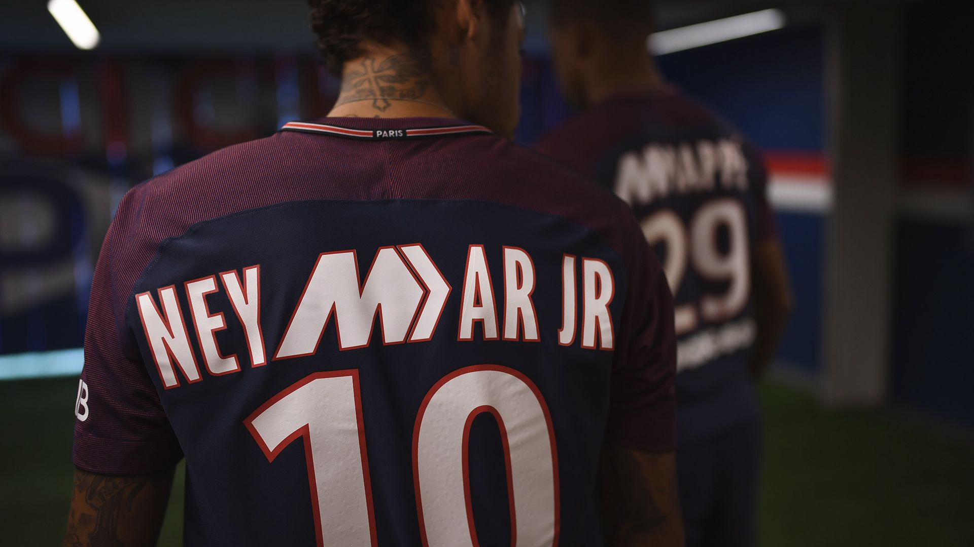 2017-2018 Paris Saint-Germain Limited Edition Stadium Home Kit. Nike ... 739c02df9