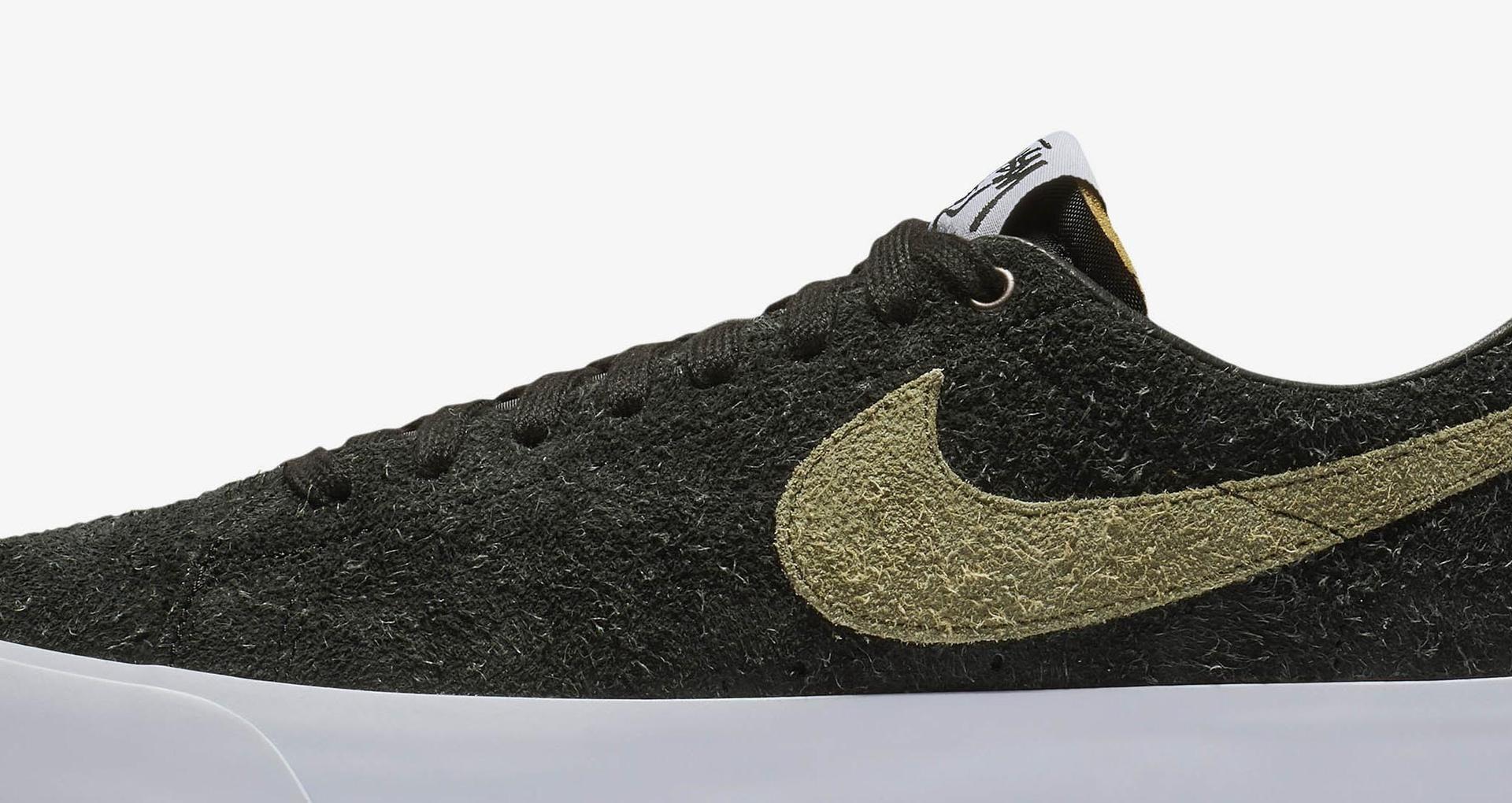 promo code 8be03 868eb Nike SB Zoom Blazer Low Stussy x Terps 'Black & Reflect ...