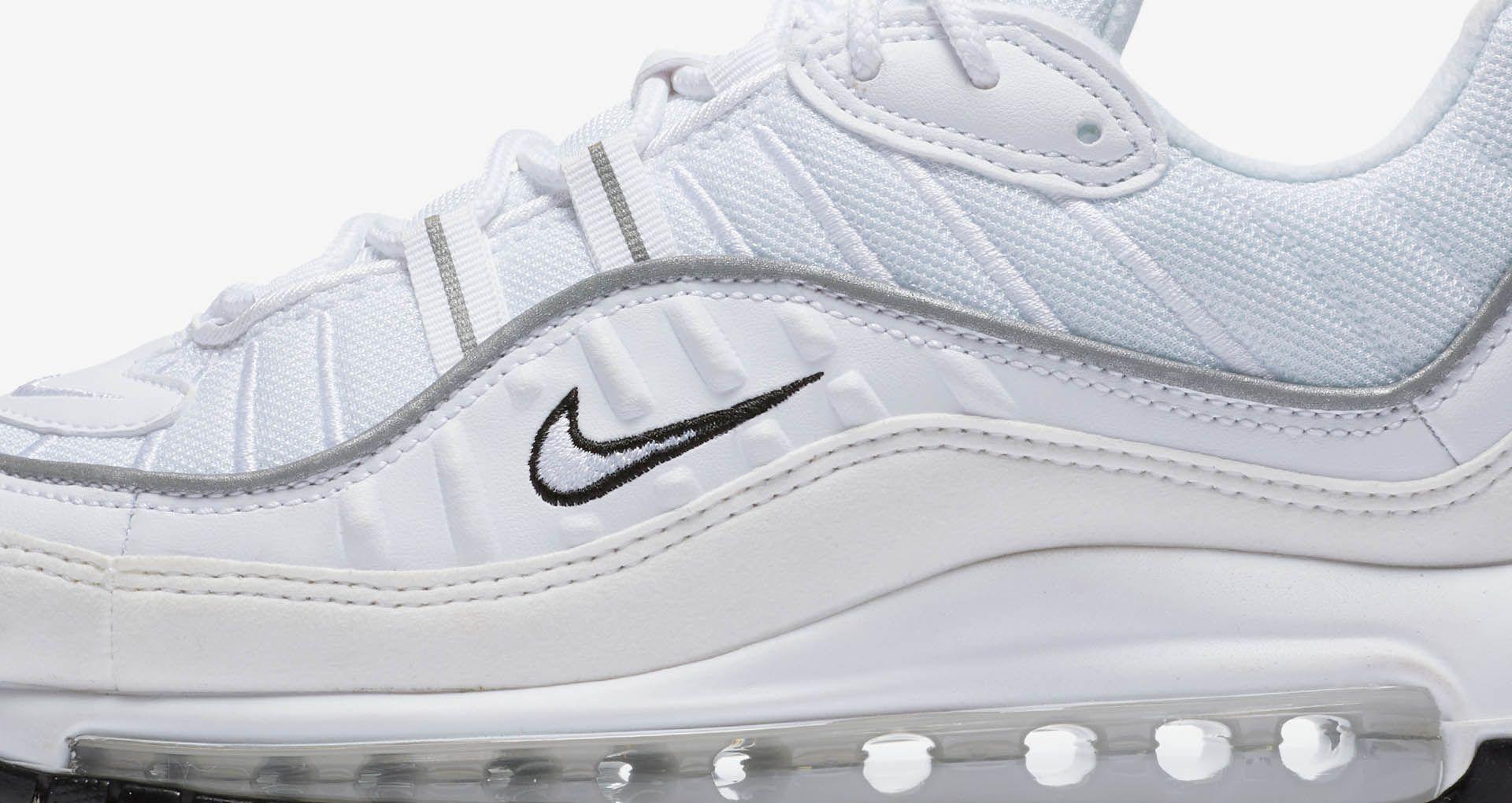 Nike Women's Air Max 98 'White & Reflective Silver