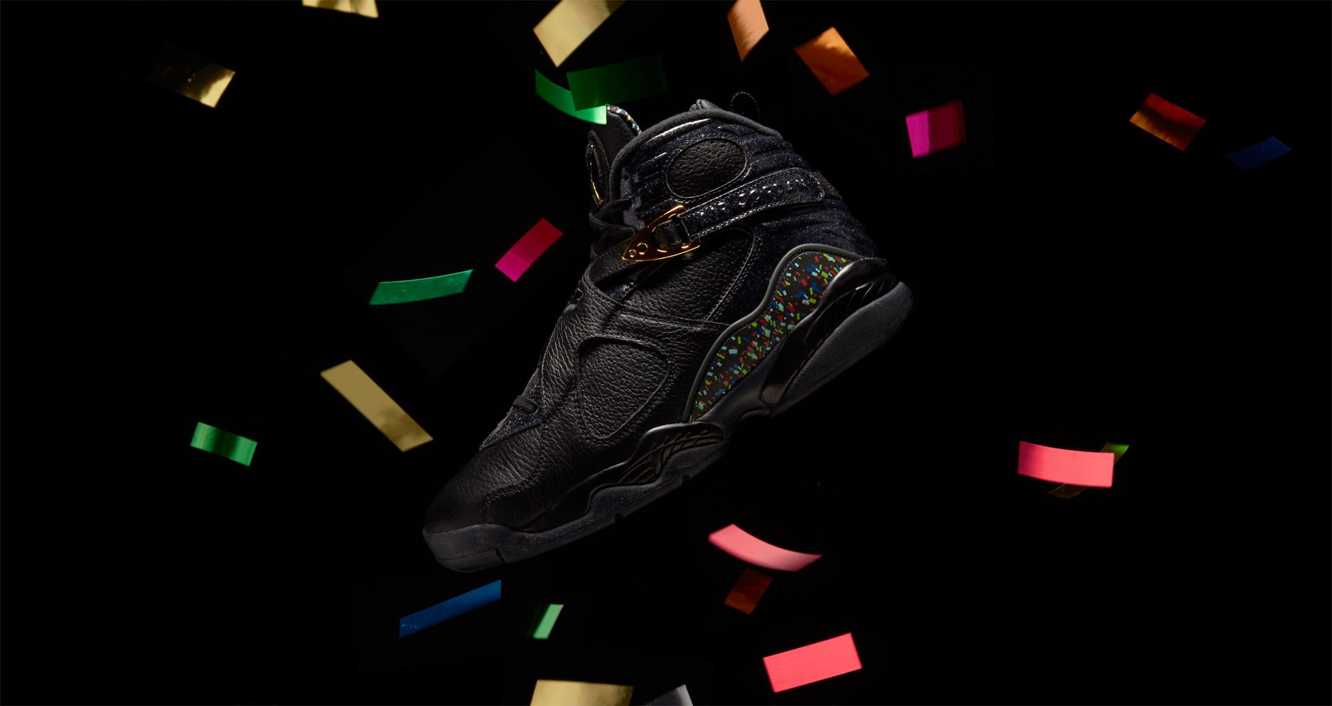 new style 782d9 b6f24 Air Jordan 8 Retro 'Confetti' Release Date. Nike⁠+ SNKRS