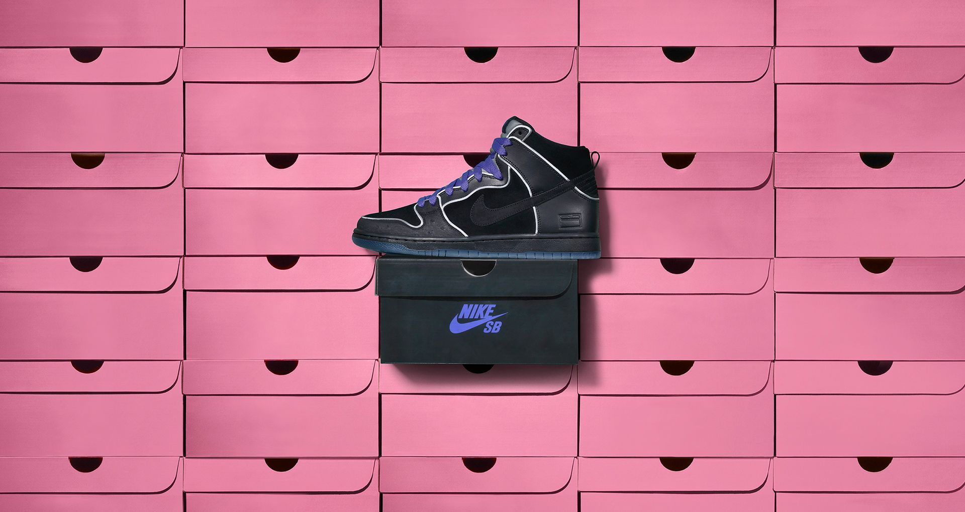 various colors ac0c9 6b73b DUNK HIGH SB ELITE. THE BLACK BOX