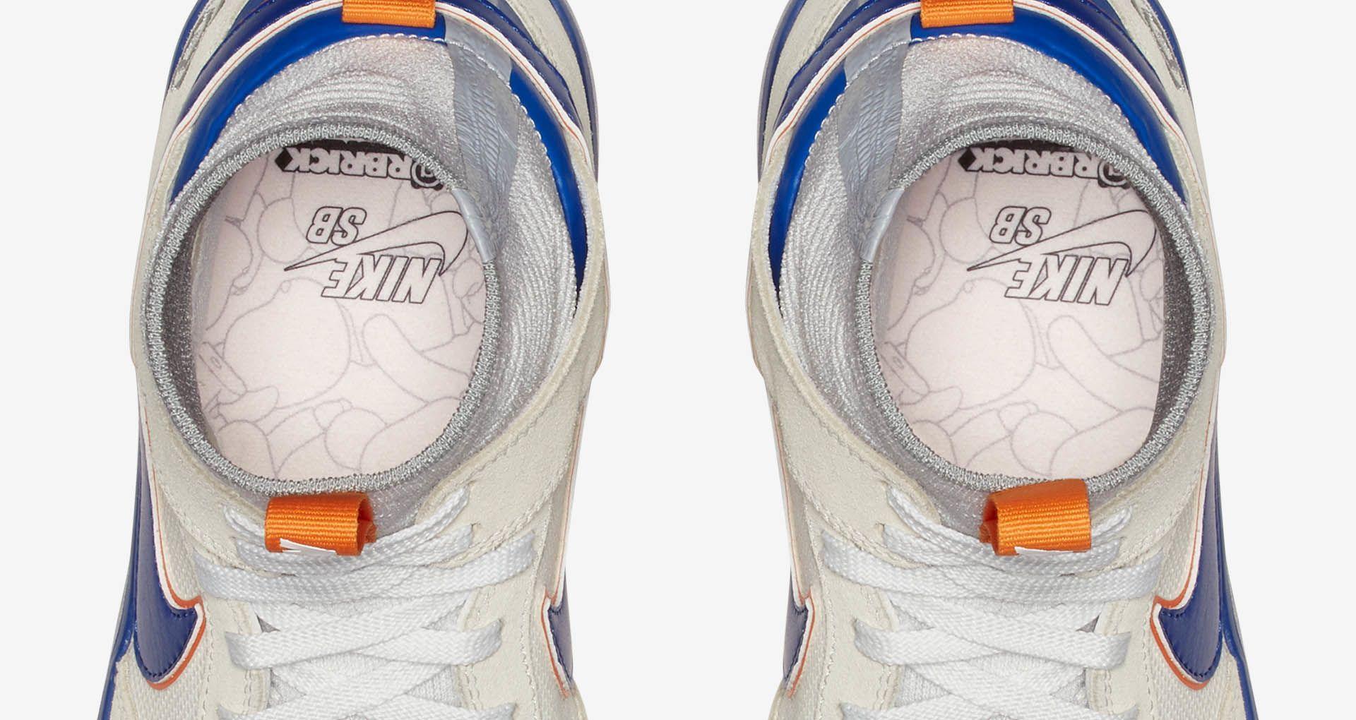 huge sale new release professional sale Nike SB Zoom Dunk High Elite Be@rbrick 'White & College Blue ...