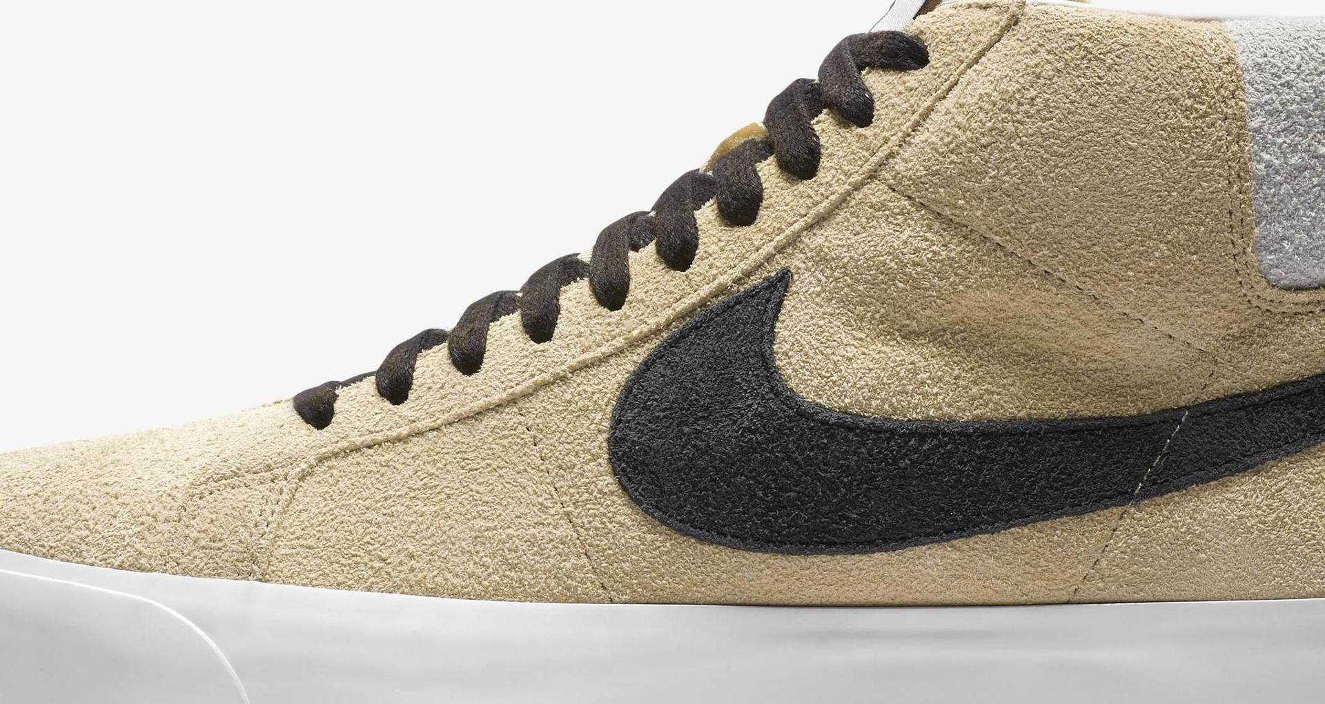 promo code 0b918 fb97e Nike SB Zoom Blazer Mid Stüssy x Lance 'Midwest Gold & ...