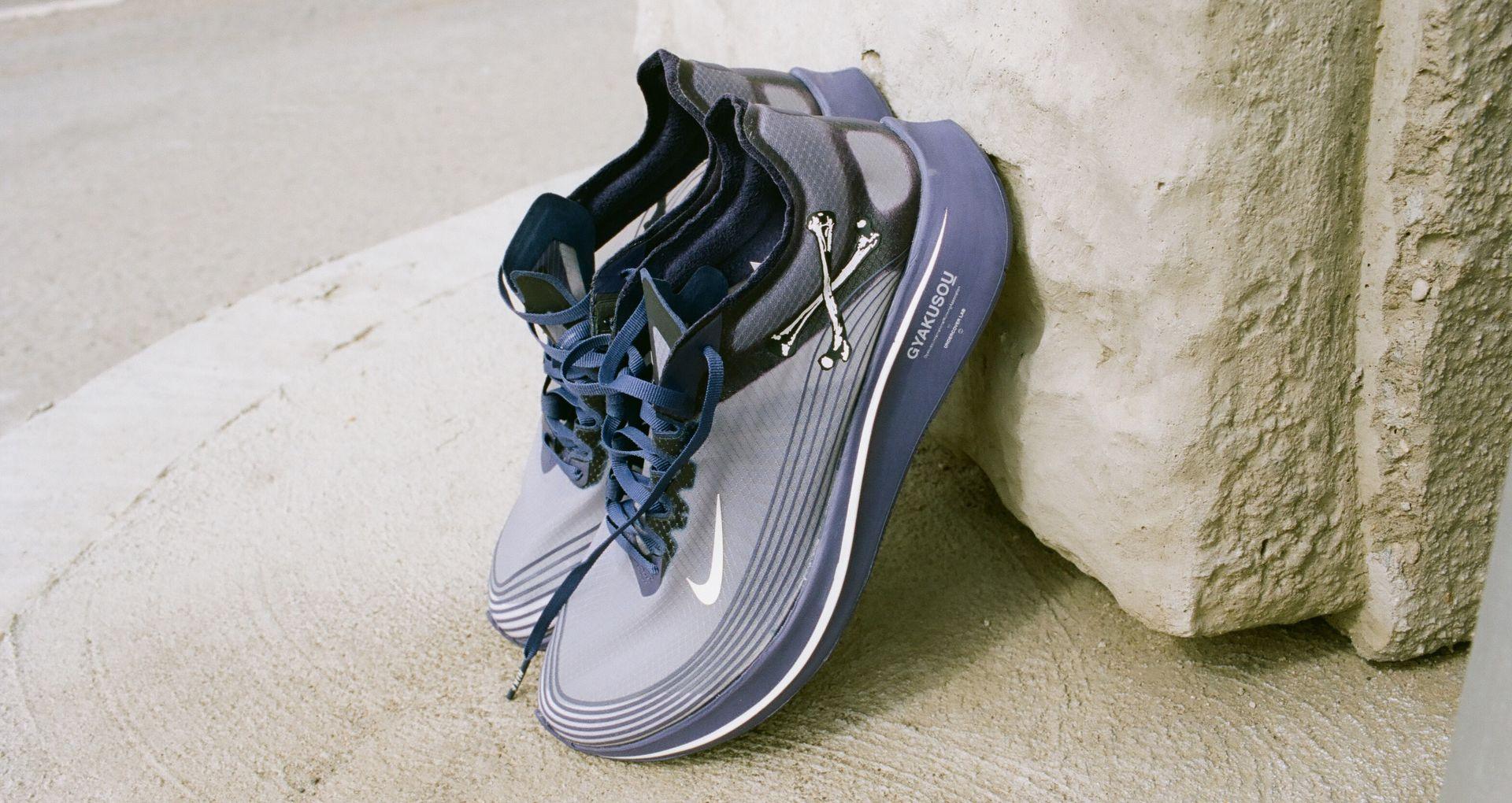 eb4db91803327 Nike Zoom Fly Gyakusou  Ink   Dark Grey   Sail  Release Date. Nike+ ...