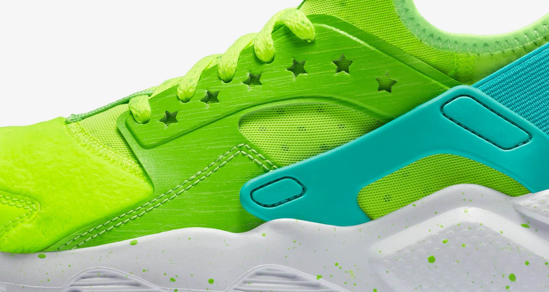 8a5064f93ad4 Women s Nike Air Huarache Ultra Doernbecher  Volt   Electric Green  ...