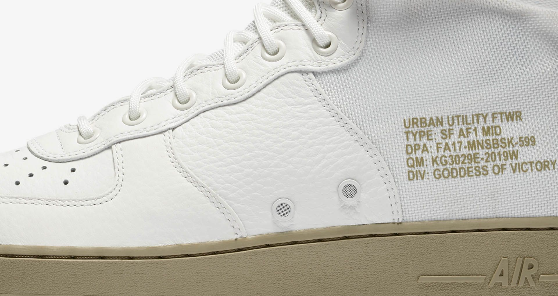 save off 54b71 5a202 Nike SF AF1 Mid 'Ivory & Neutral Olive' Release Date ...