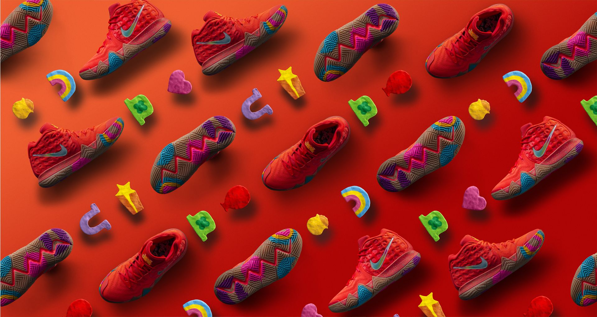 meet 4e85c a1ab4 Behind The Design: Kyrie 4 'Lucky Charms'. Nike+ SNKRS