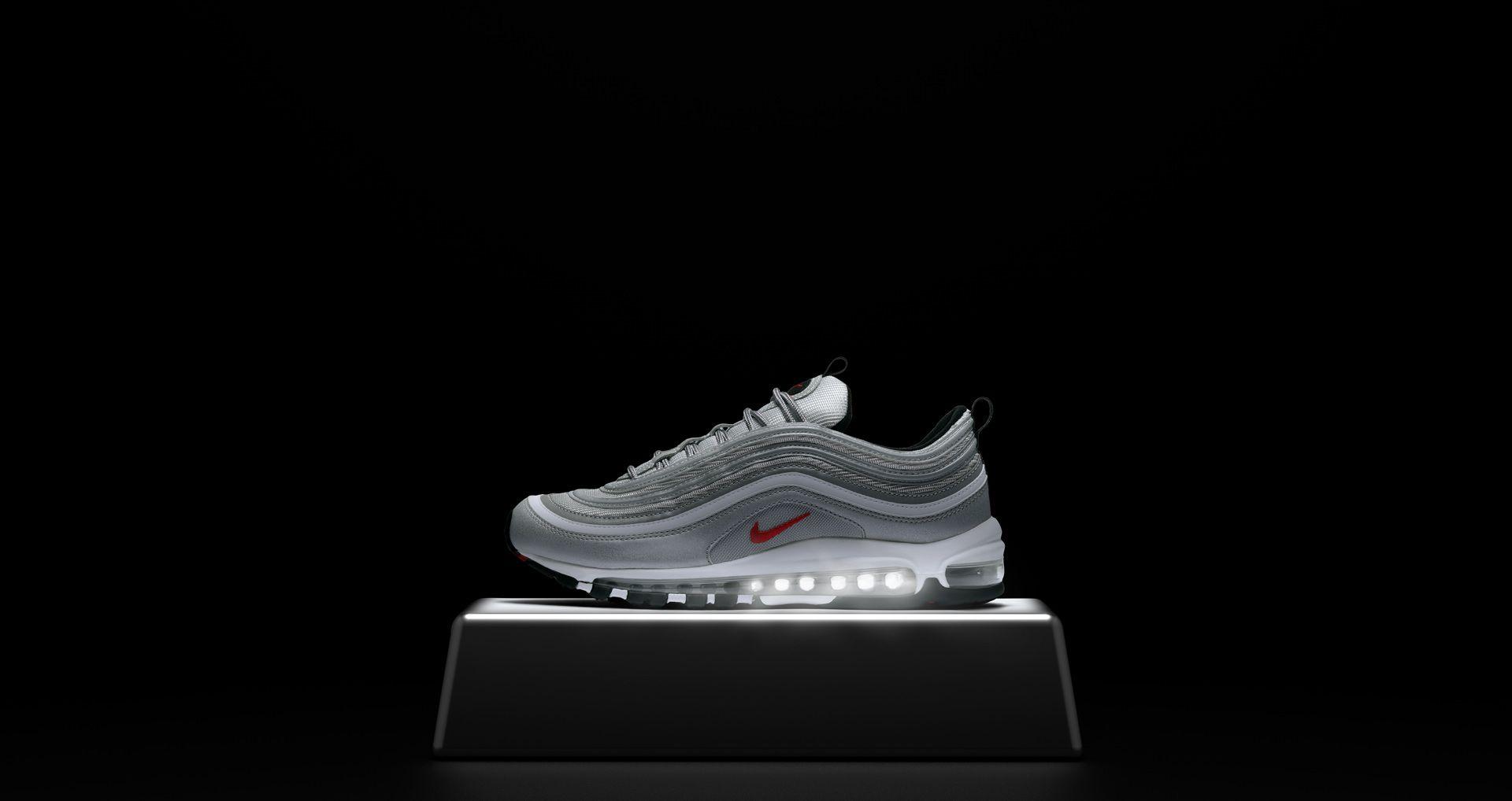 Nike Air Max 97 OG 'Metallic Silver'. Nike SNEAKRS VN
