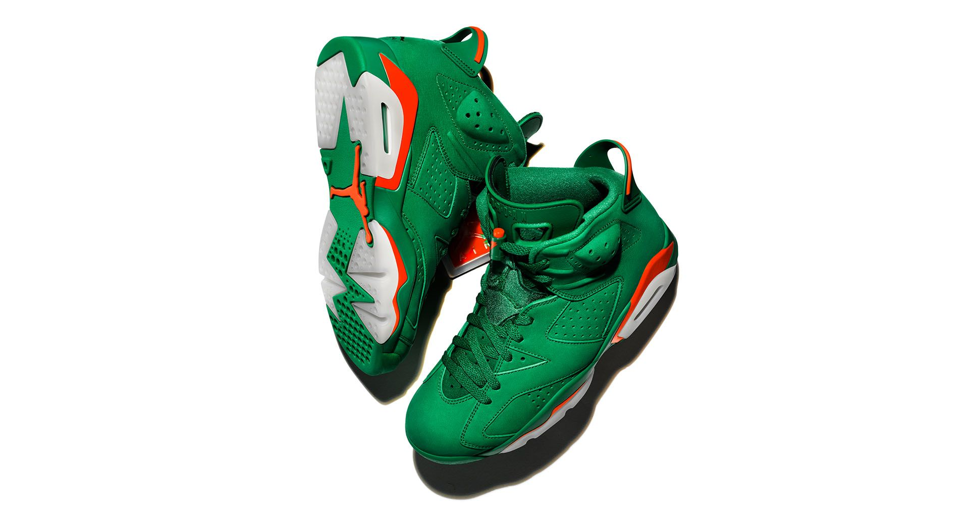 separation shoes 0aa80 2bfbb Air Jordan 6 Gatorade  Pine Green  Release Date. Nike⁠+ SNKRS