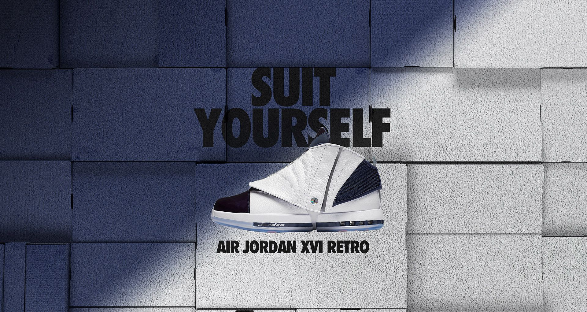 624d1f83b9f Air Jordan 16 Retro 'Midnight Navy & White'. Nike+ Launch GB