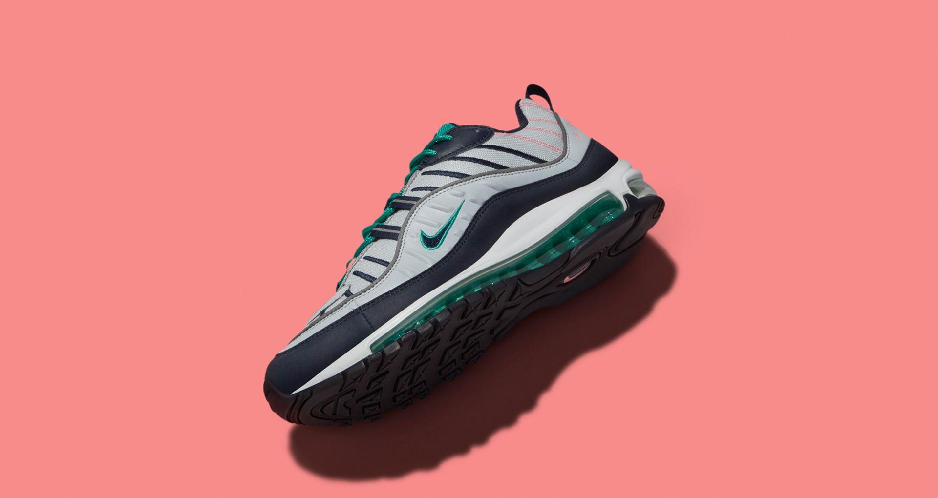 on sale b4051 7d340 Date de sortie de la Nike Air Max 98 « Pure Platinum  amp  Obsidian ...