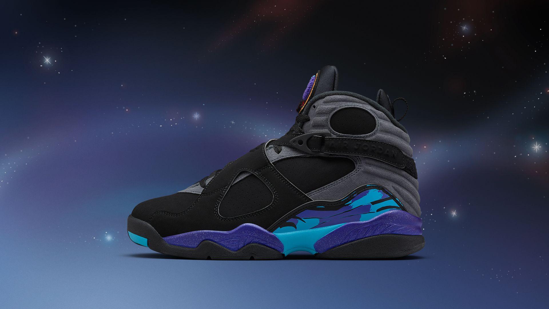 watch 8ec06 f8fe2 Air Jordan 8 Retro 'Aqua' Release Date. Nike+ SNKRS
