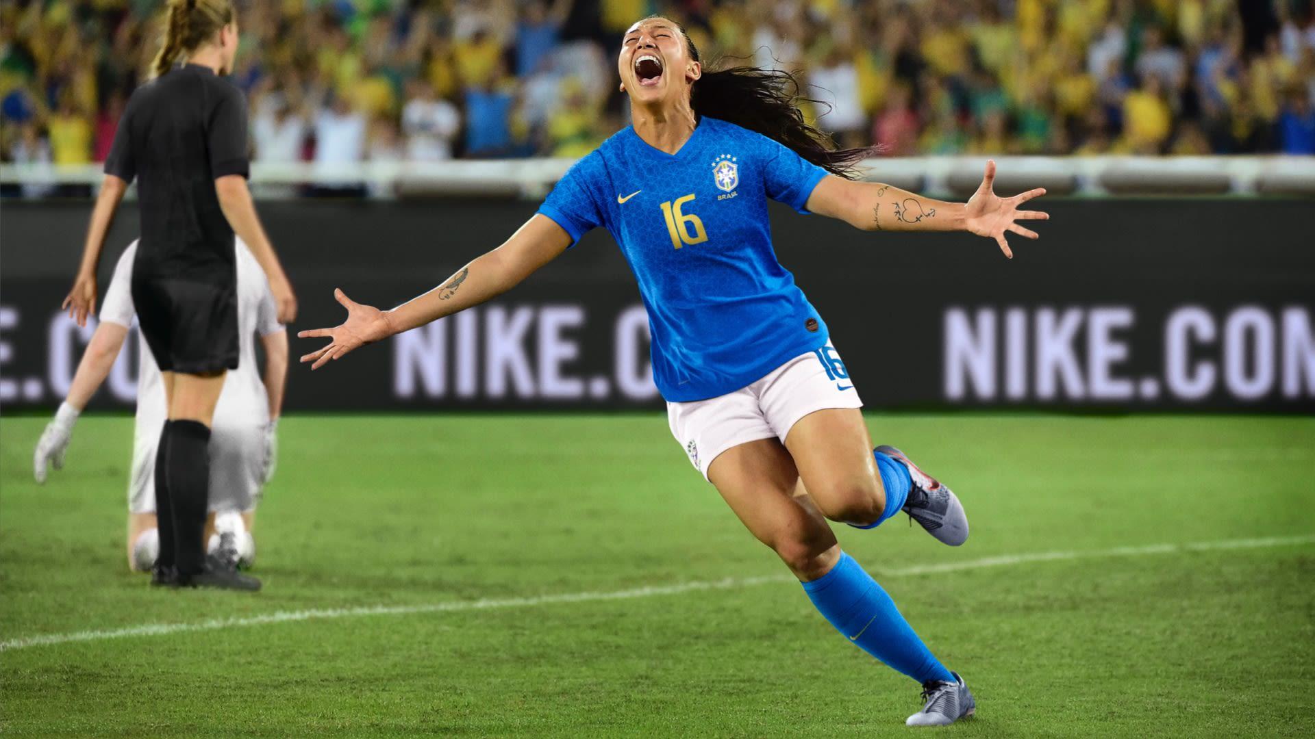 ce37d2886d Maillot 2019 Équipe du Brésil féminine Stadium Away. Nike.com FR