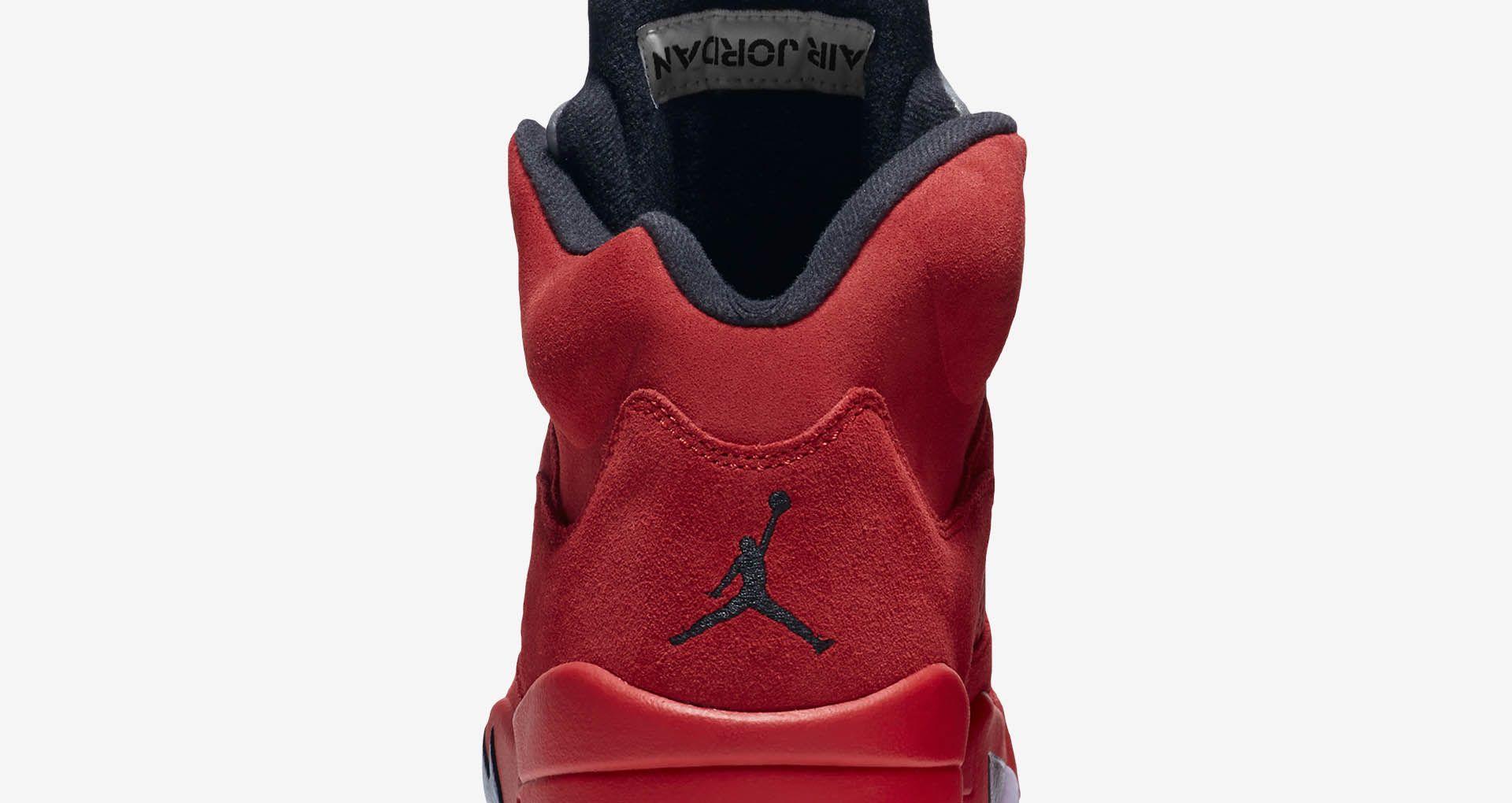 buy popular fa05d 0e41b Air Jordan 5 Retro Flight Suit  University Red  Release Date
