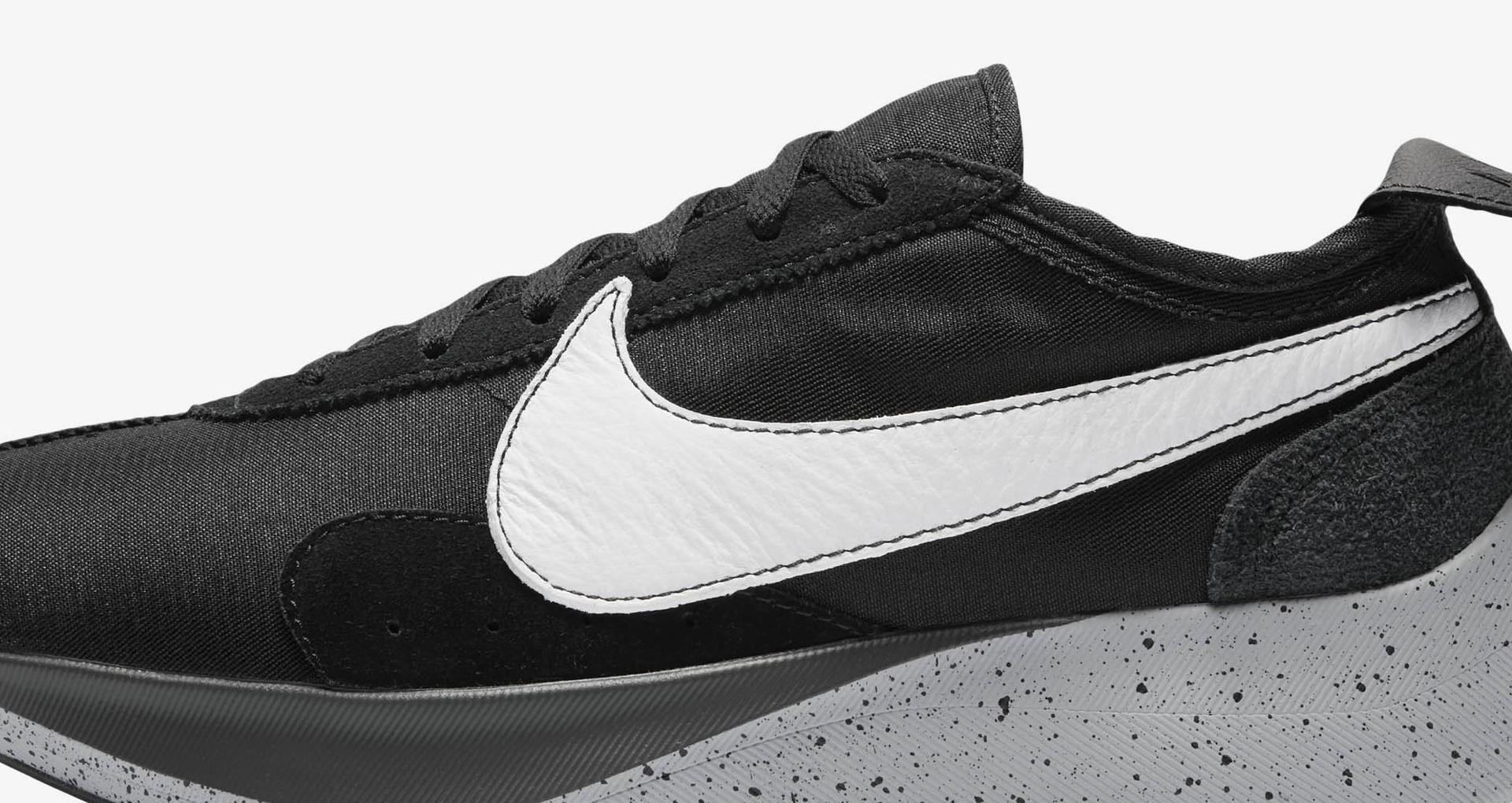 cc8fcbd2bf02 Nike Moon Racer  Black   White   Wolf Grey  Release Date. Nike+ SNKRS