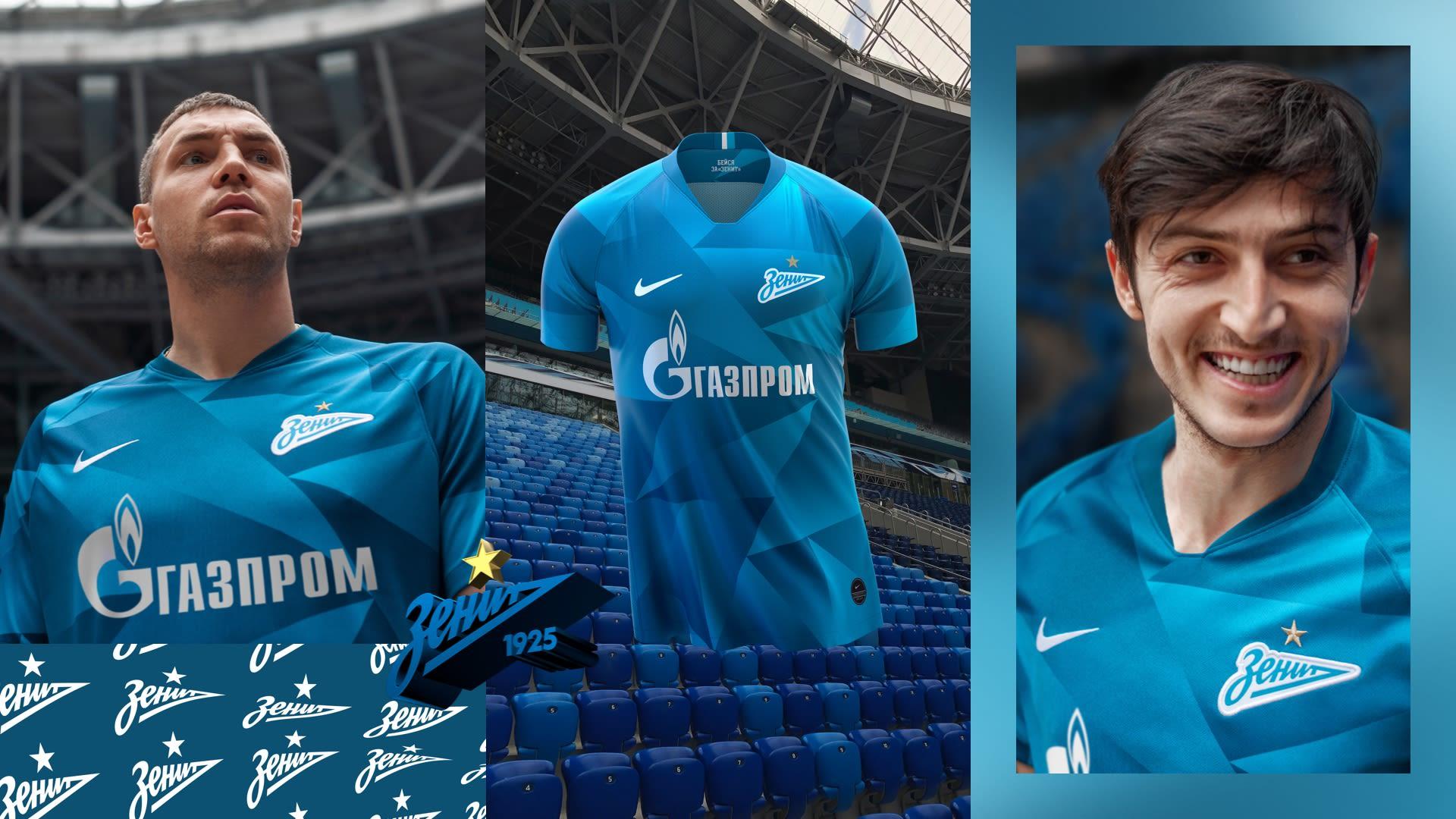 9258d4be5943f Джерси 2019/20 Zenit Stadium Home. Nike.com RU