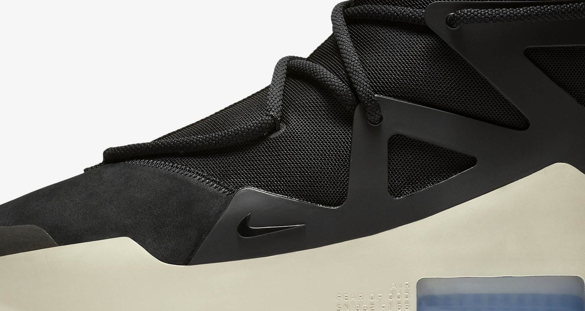 Nike Air Fear Of God 1 Black Release Date Nike Snkrs