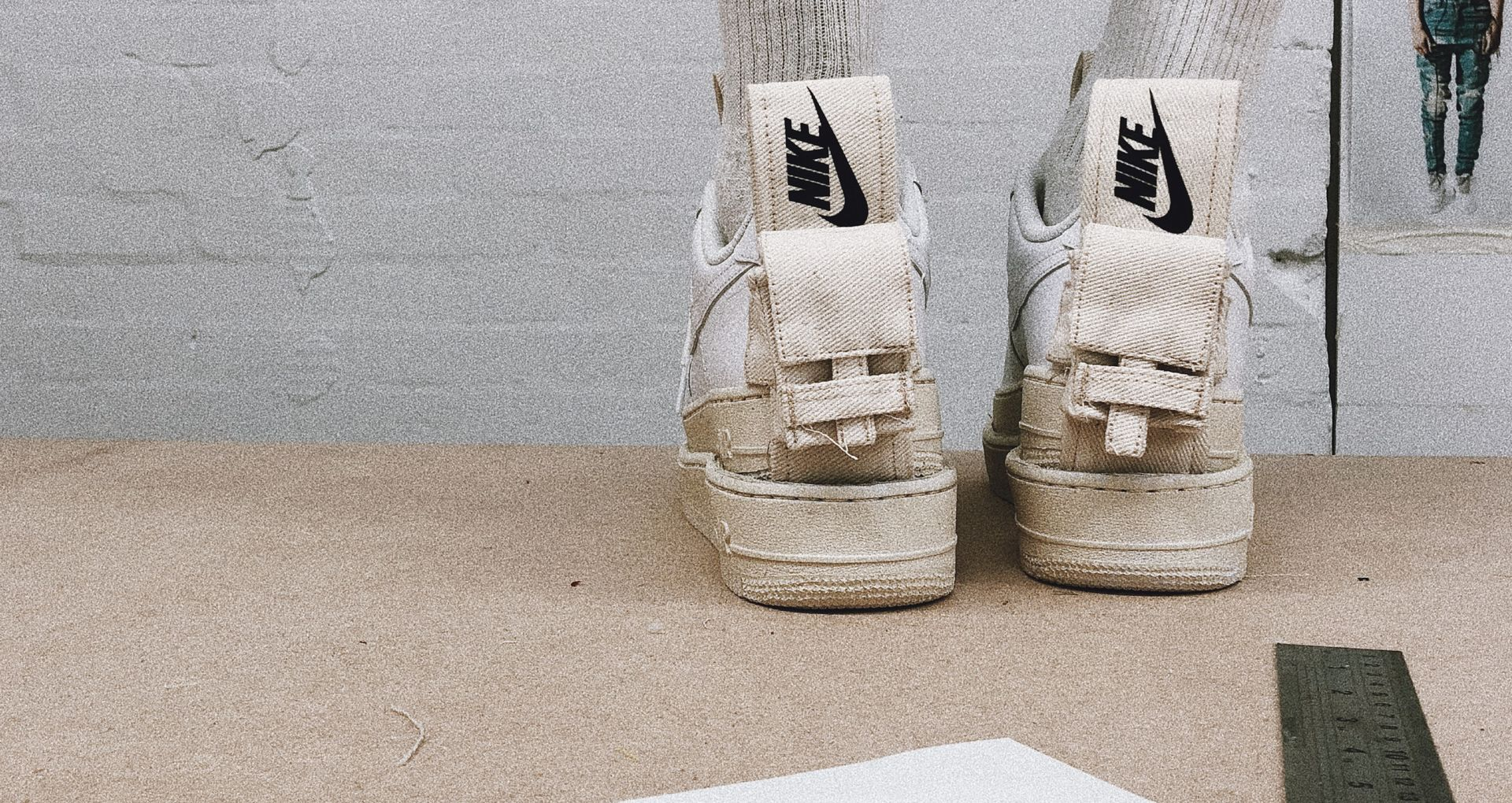 Art of Snkrs: Val Kristopher X Air Force 1 Utility. Nike