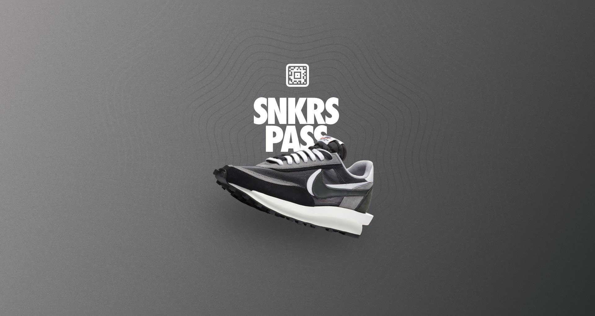 SNKRS Pass: sacai x Nike LDWaffle 'Black'  Nike+ SNKRS