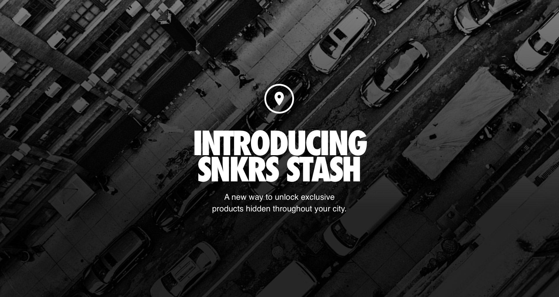 Introducing SNKRS Stash  Nike+ SNKRS