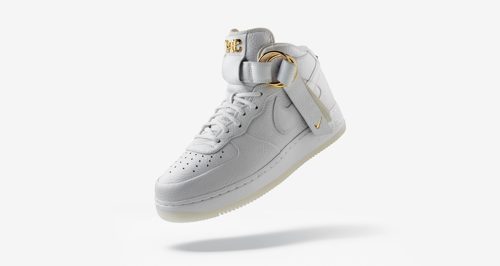 check out 172da eef0f Air Force 1 Mid V.Cruz  Triple White  Release Date. Nike⁠+ SNKRS