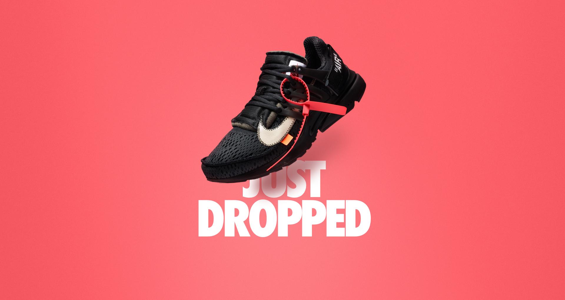 Nike The Ten Air Presto Off White Black Cone Release