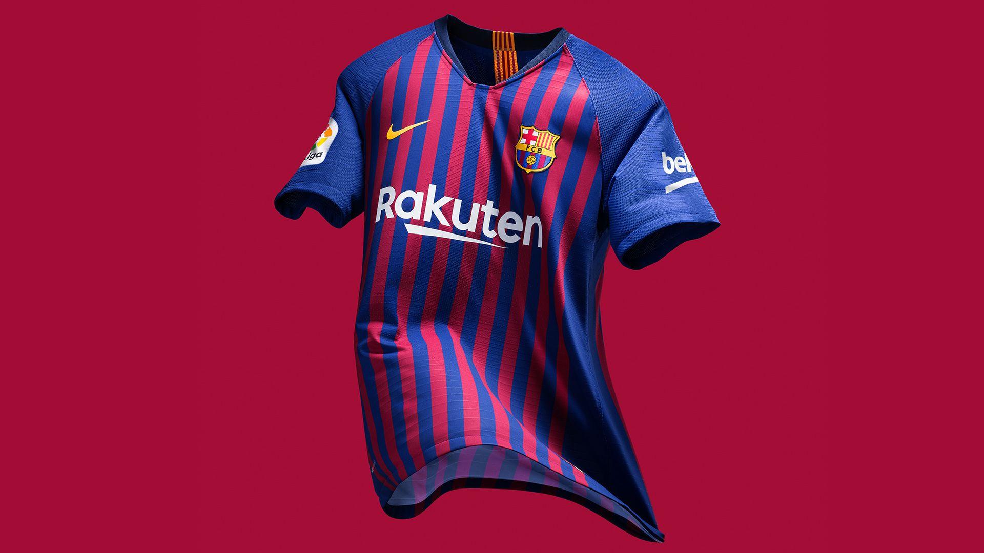 best sneakers afe21 1ae8e FC Barcelona 2018/19 Stadium Home Kit. Nike.com
