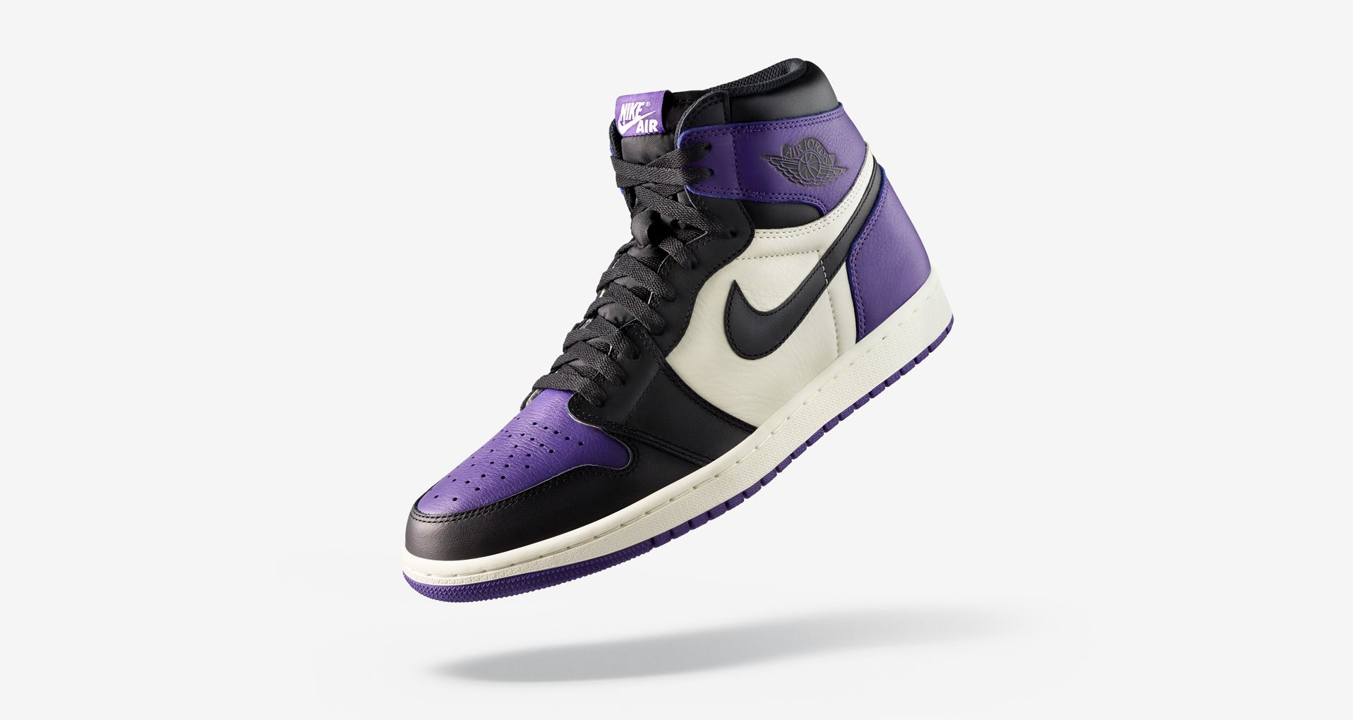 buy online a1b96 5d2cb Air Jordan 1 Retro  Court Purple  Release Date