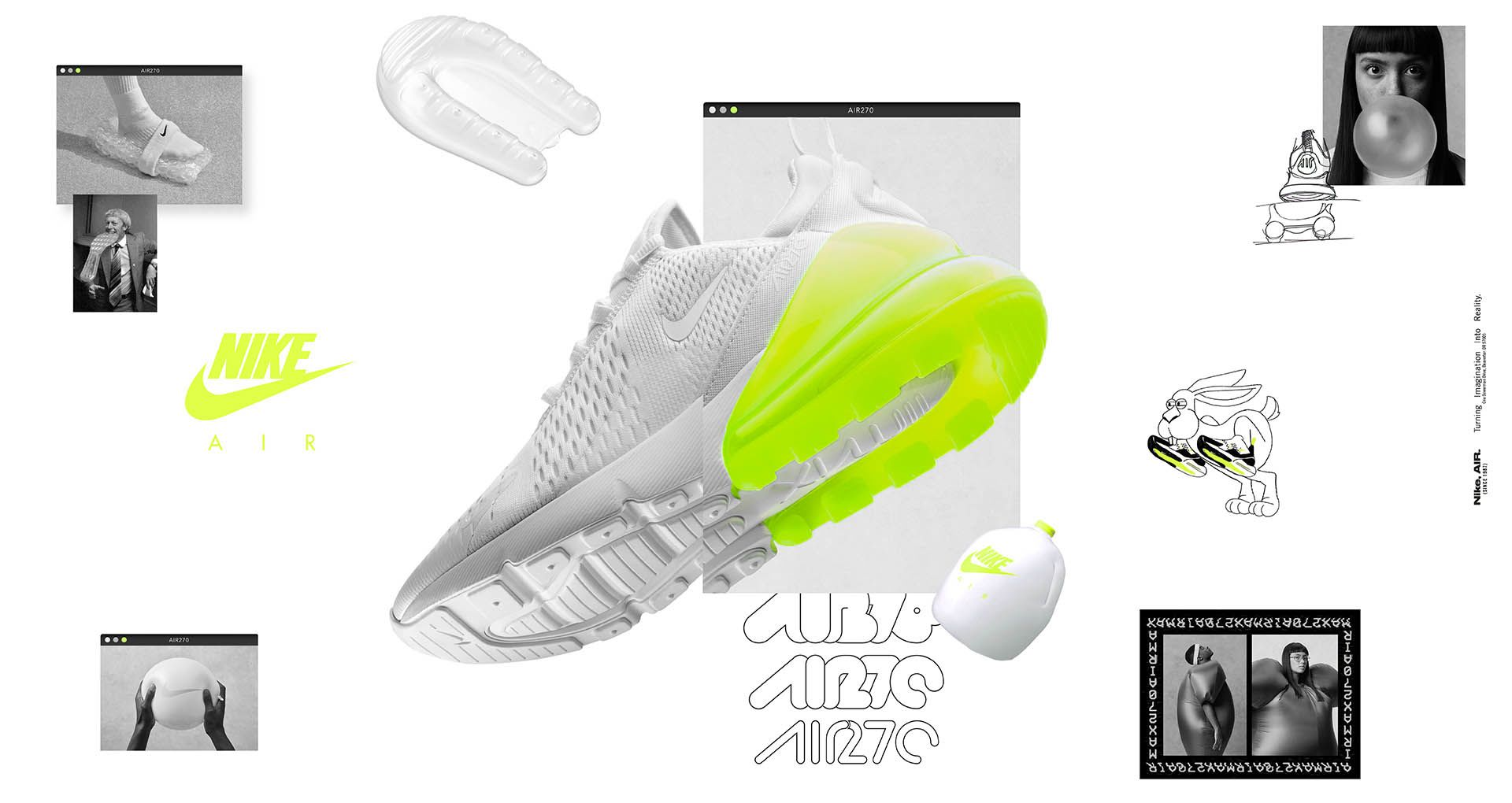 Nike Air Max 270 White Pack  Volt  Release Date. Nike⁠+ Launch GB e6df69446