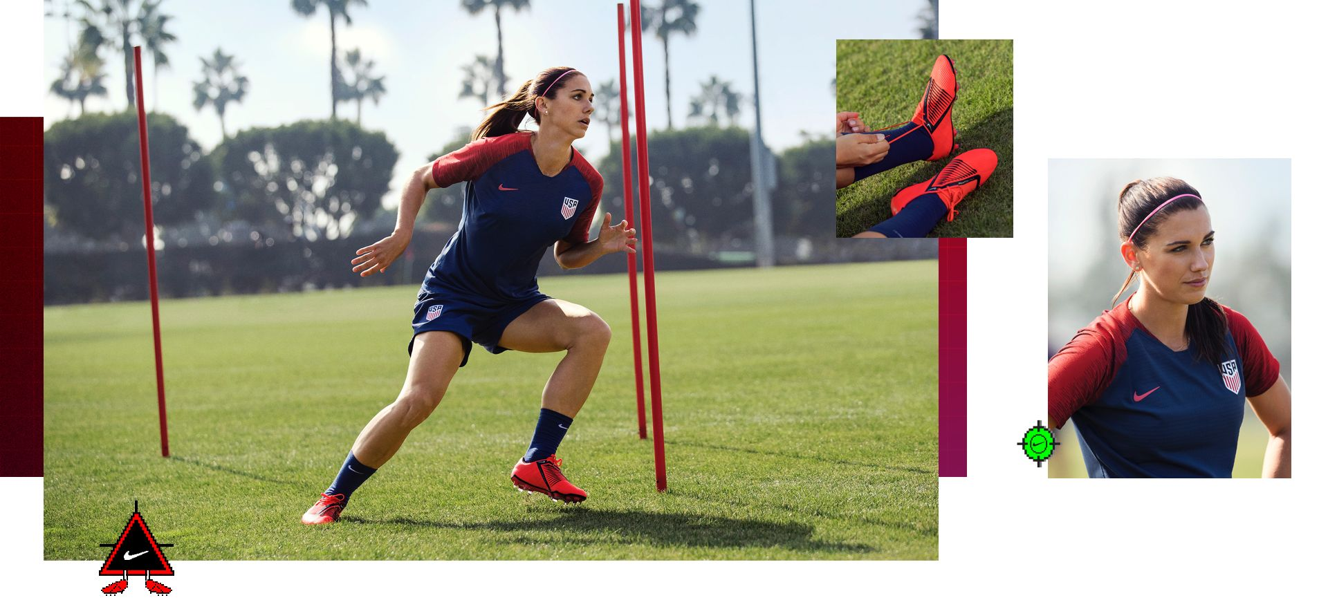 bd4dedc7f46f Training Unlocked With Alex Morgan. Nike.com