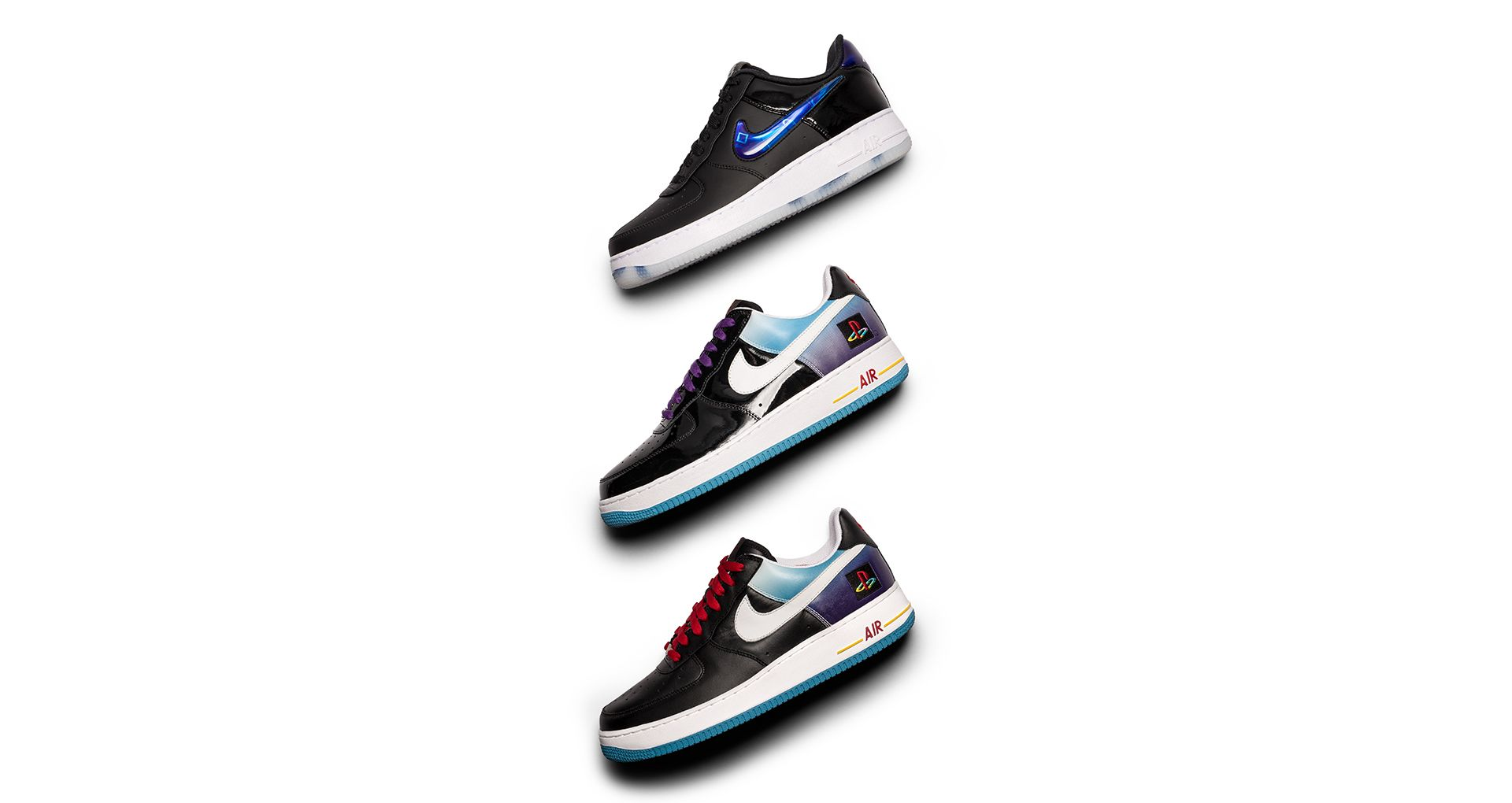 quality design 40766 dfcdf Behind The Design: Air Force 1 Playstation 2018. Nike⁠+ SNKRS