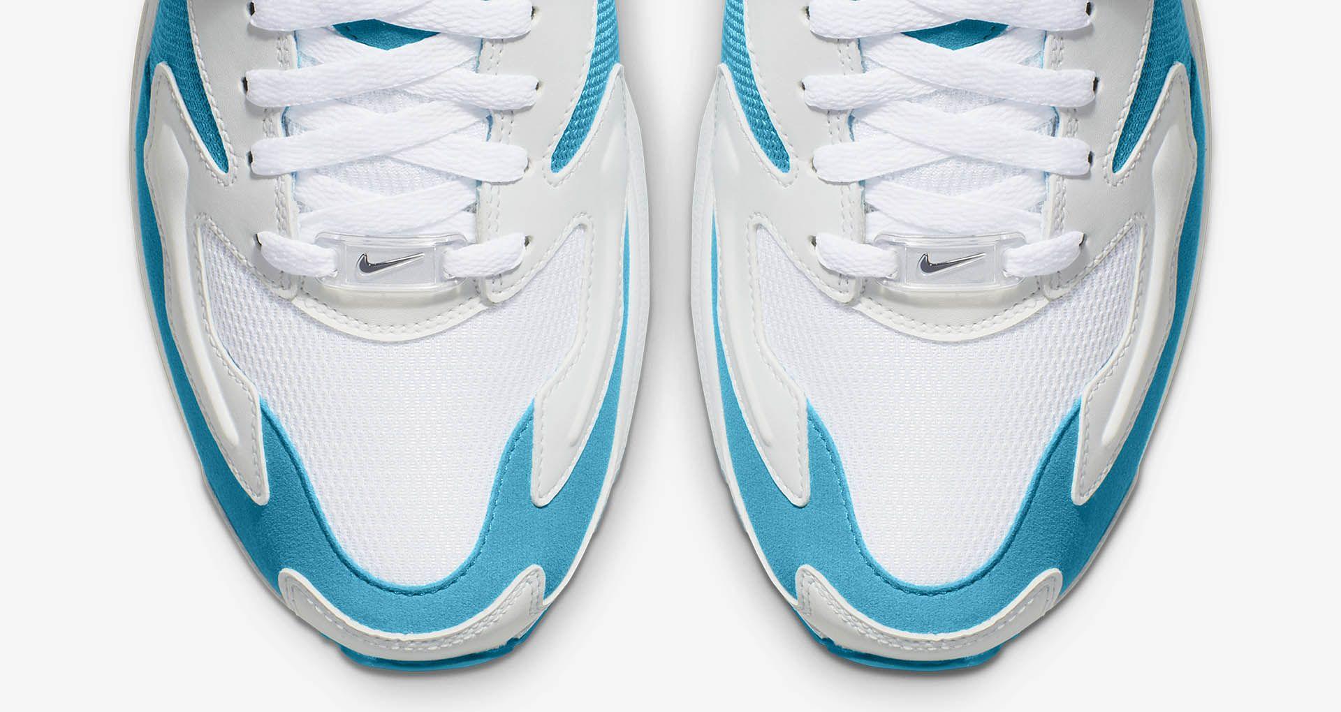 fdf7c2ed555a Men s Air Max2 Light  Blue Lagoon  Release Date.. Nike+ Launch NL